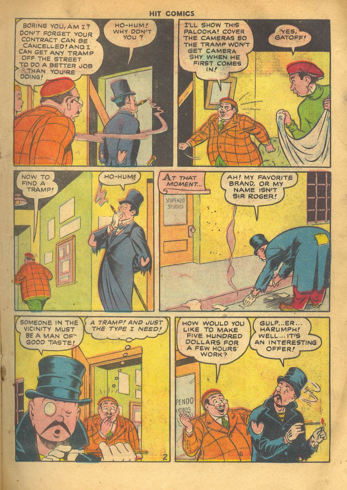 Read online Hit Comics comic -  Issue #60 - 17