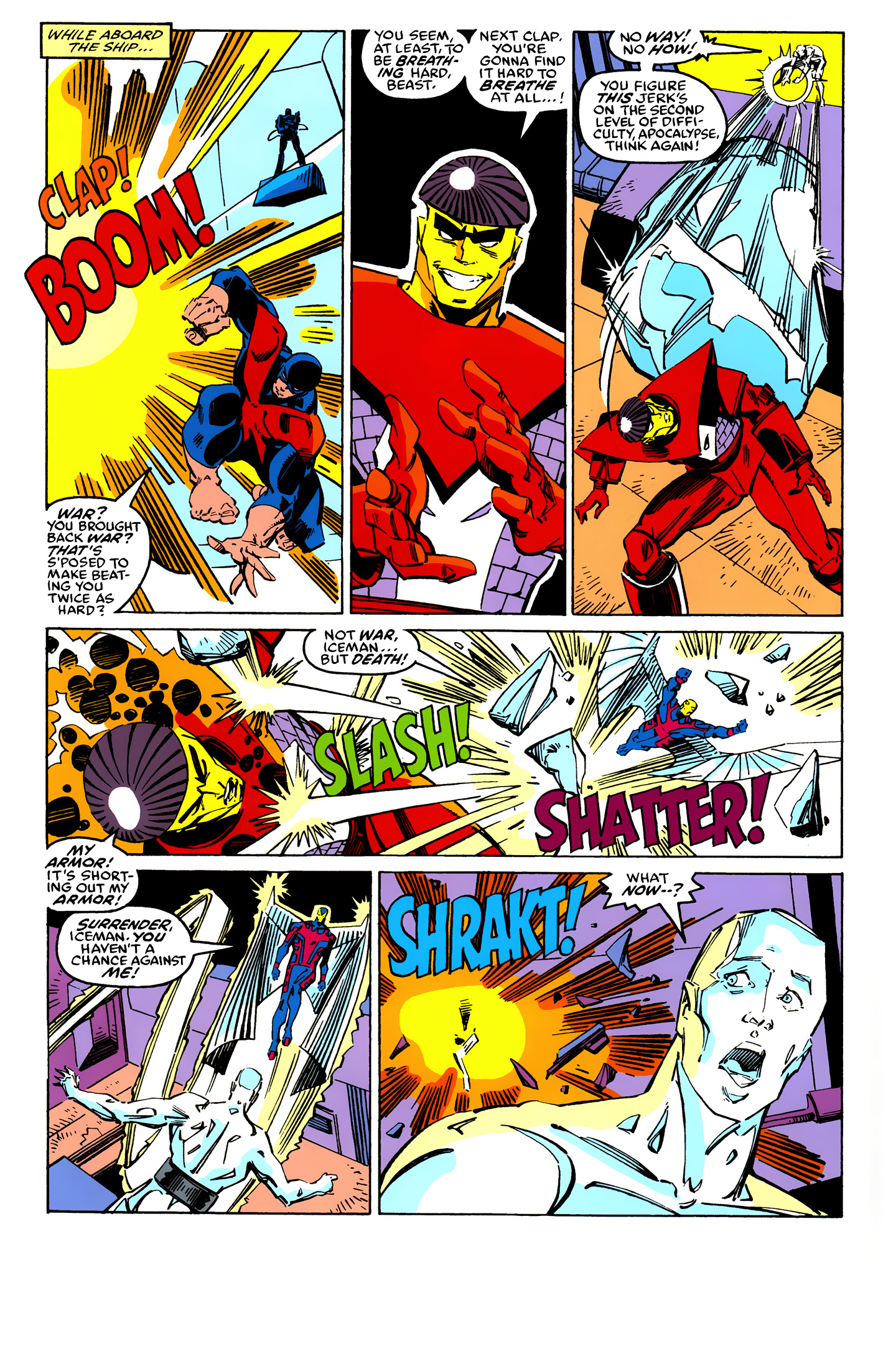 Read online X-Factor (1986) comic -  Issue #25 - 28
