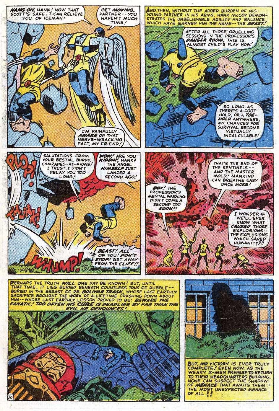 Read online Uncanny X-Men (1963) comic -  Issue #69 - 25