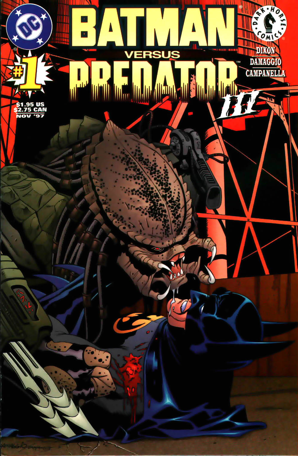 Batman/Predator III issue 1 - Page 1