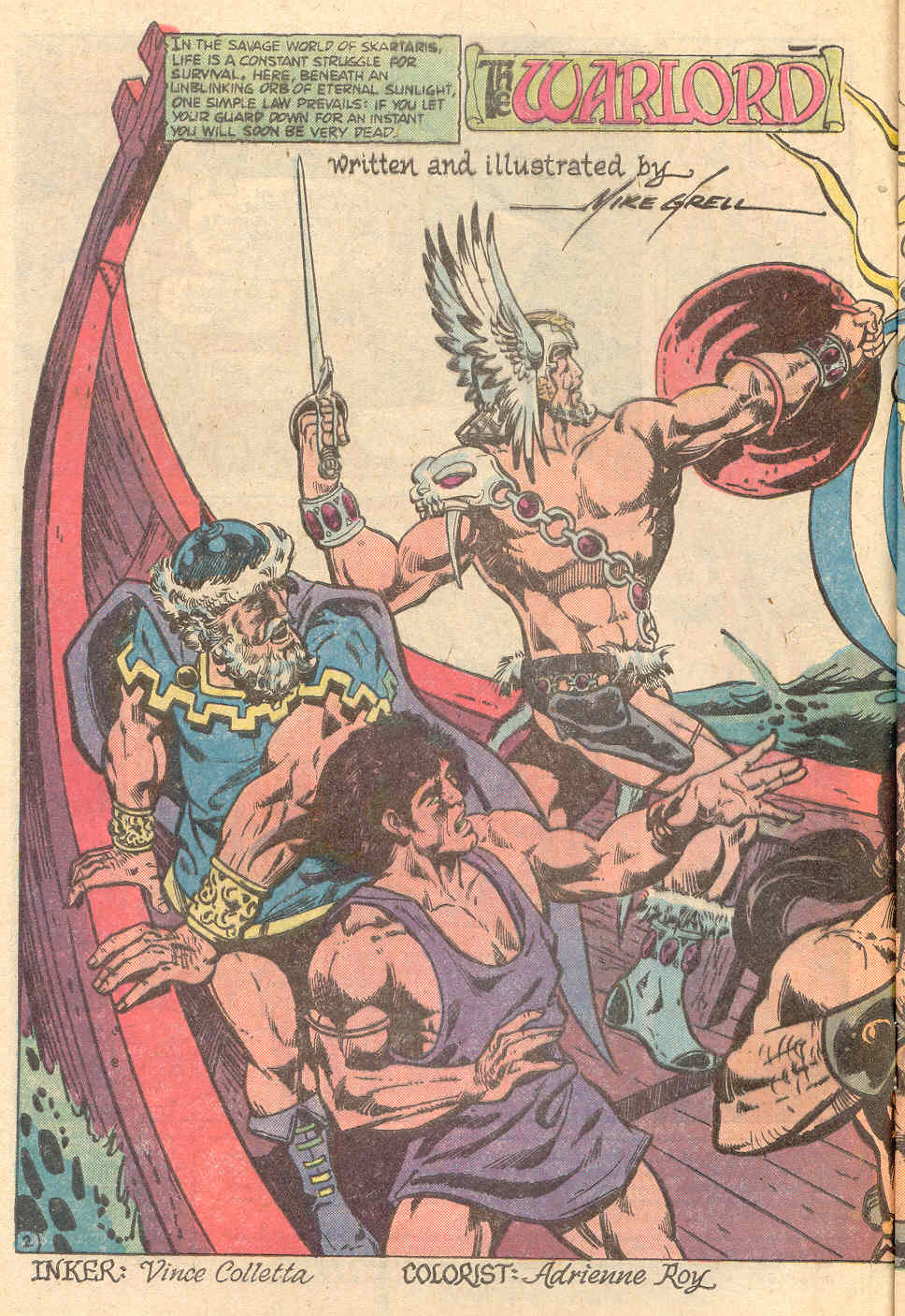 Warlord (1976) issue 24 - Page 3