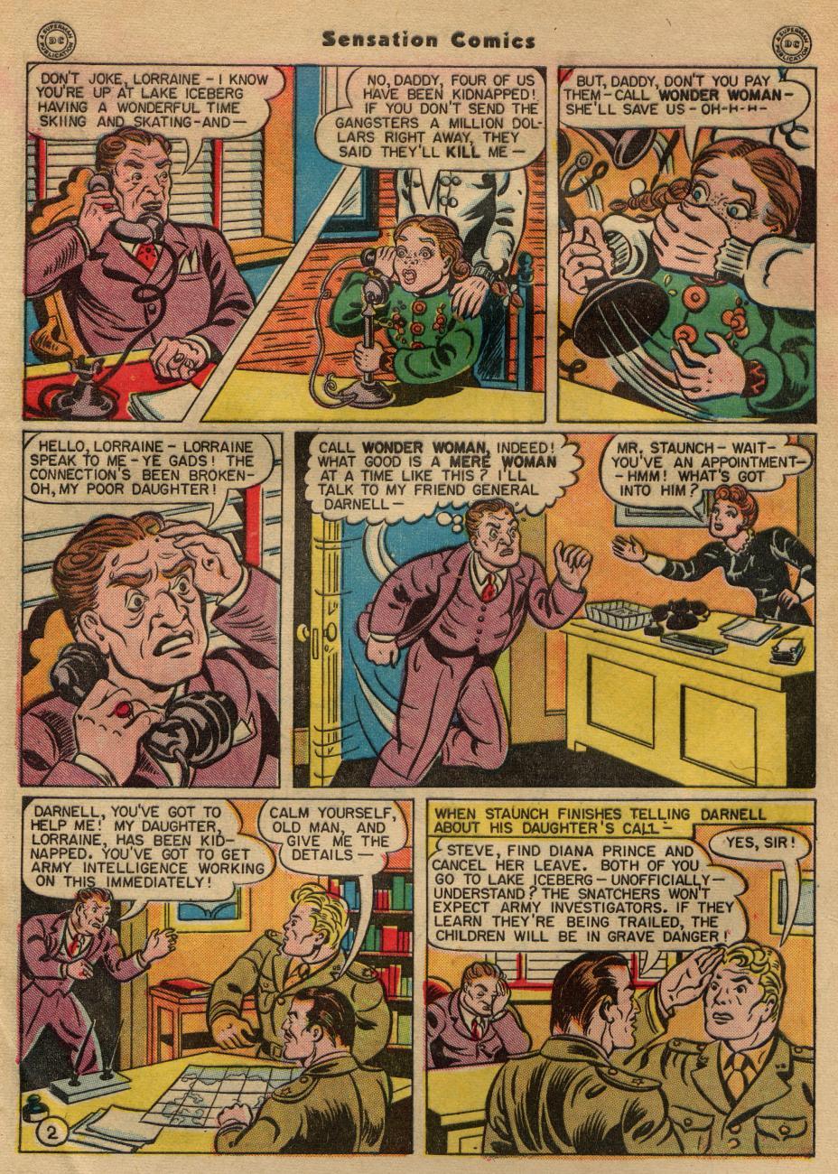 Read online Sensation (Mystery) Comics comic -  Issue #49 - 4