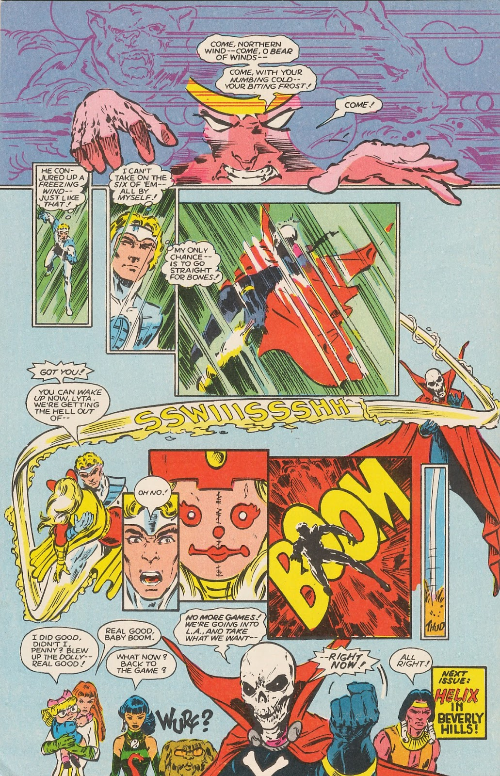 Infinity Inc. (1984) issue 17 - Page 31