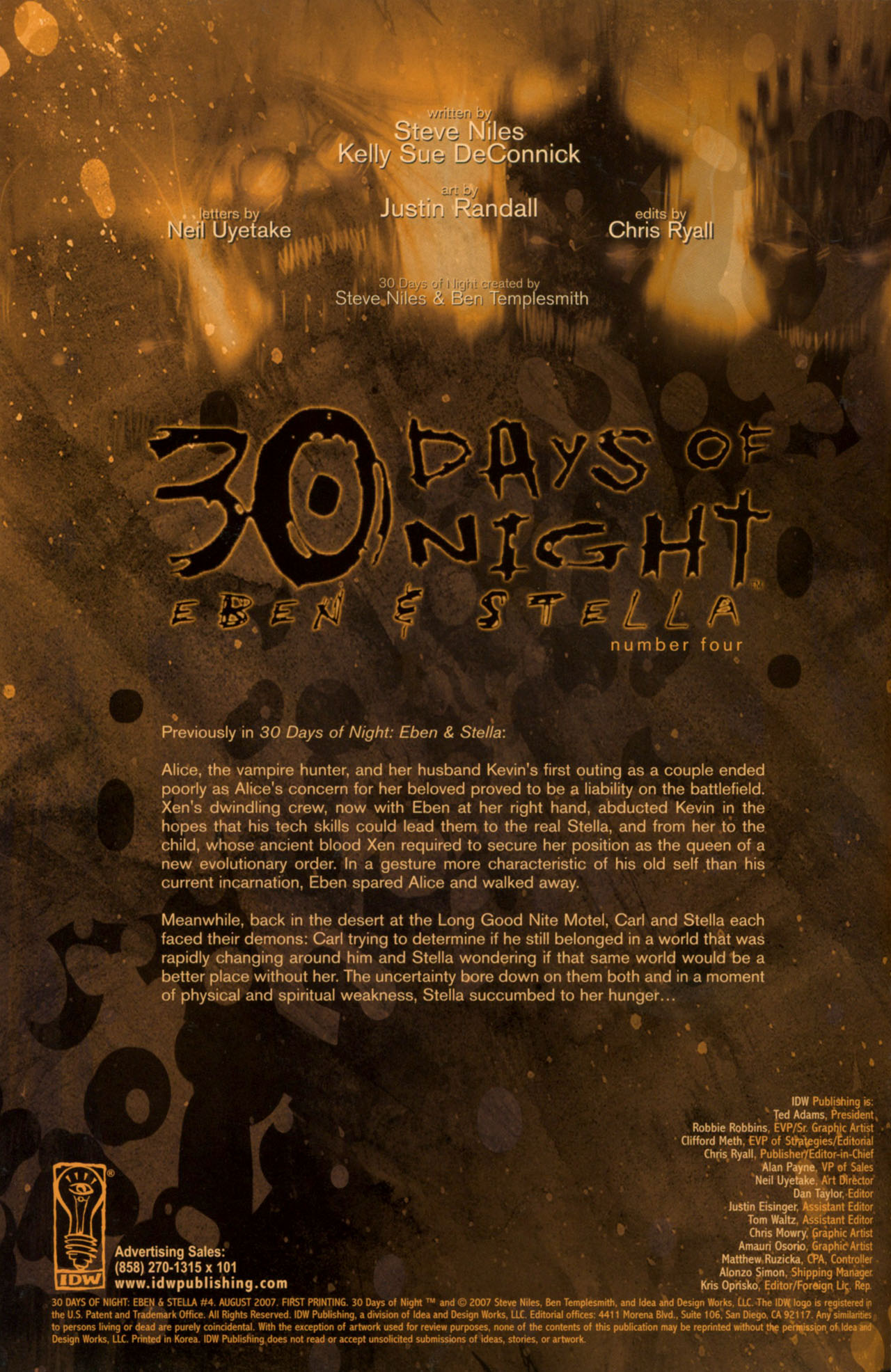 30 Days of Night: Eben & Stella 4 Page 2
