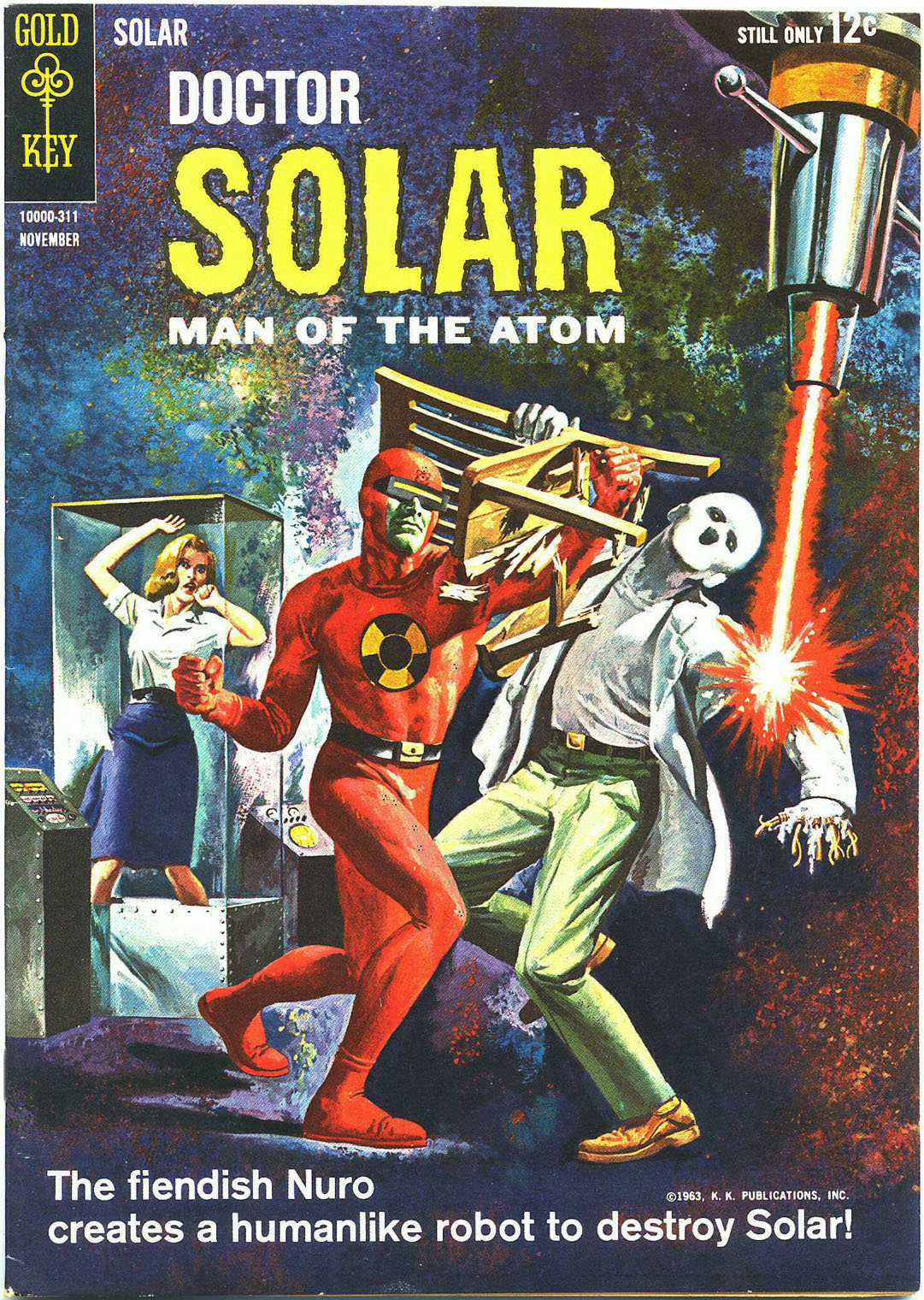 Doctor Solar, Man of the Atom (1962) 6 Page 1