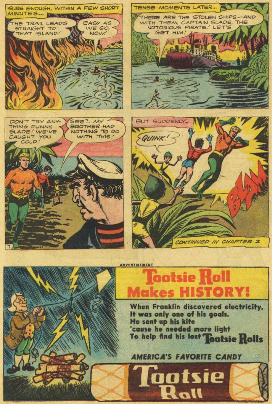 Read online Aquaman (1962) comic -  Issue #6 - 9