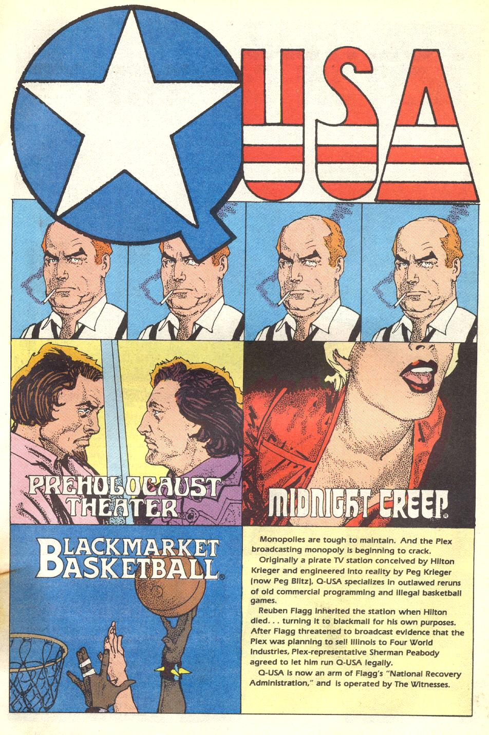 Read online American Flagg! comic -  Issue #17 - 26