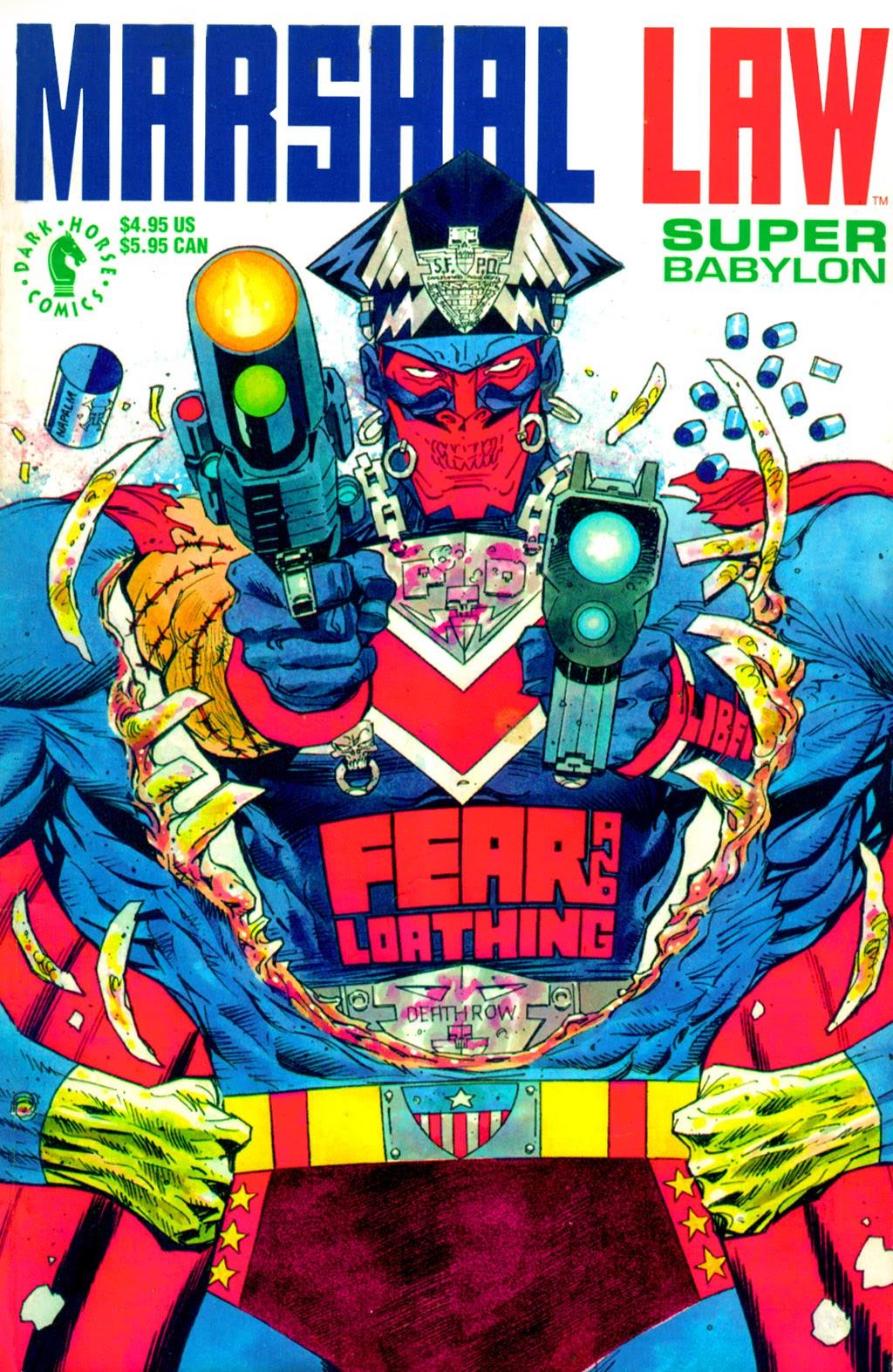 Marshal Law: Super Babylon Full Page 1