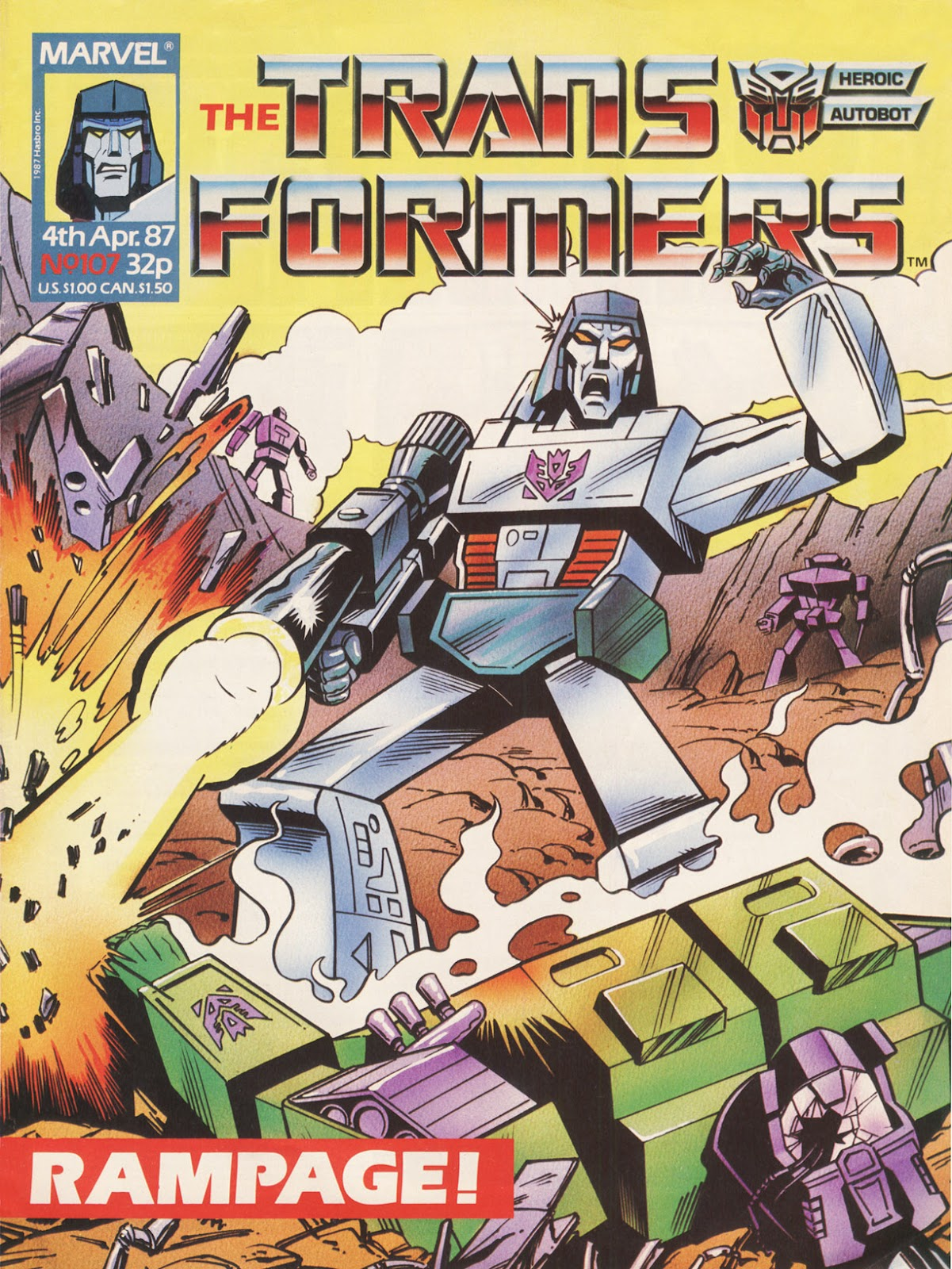 The Transformers (UK) 107 Page 1