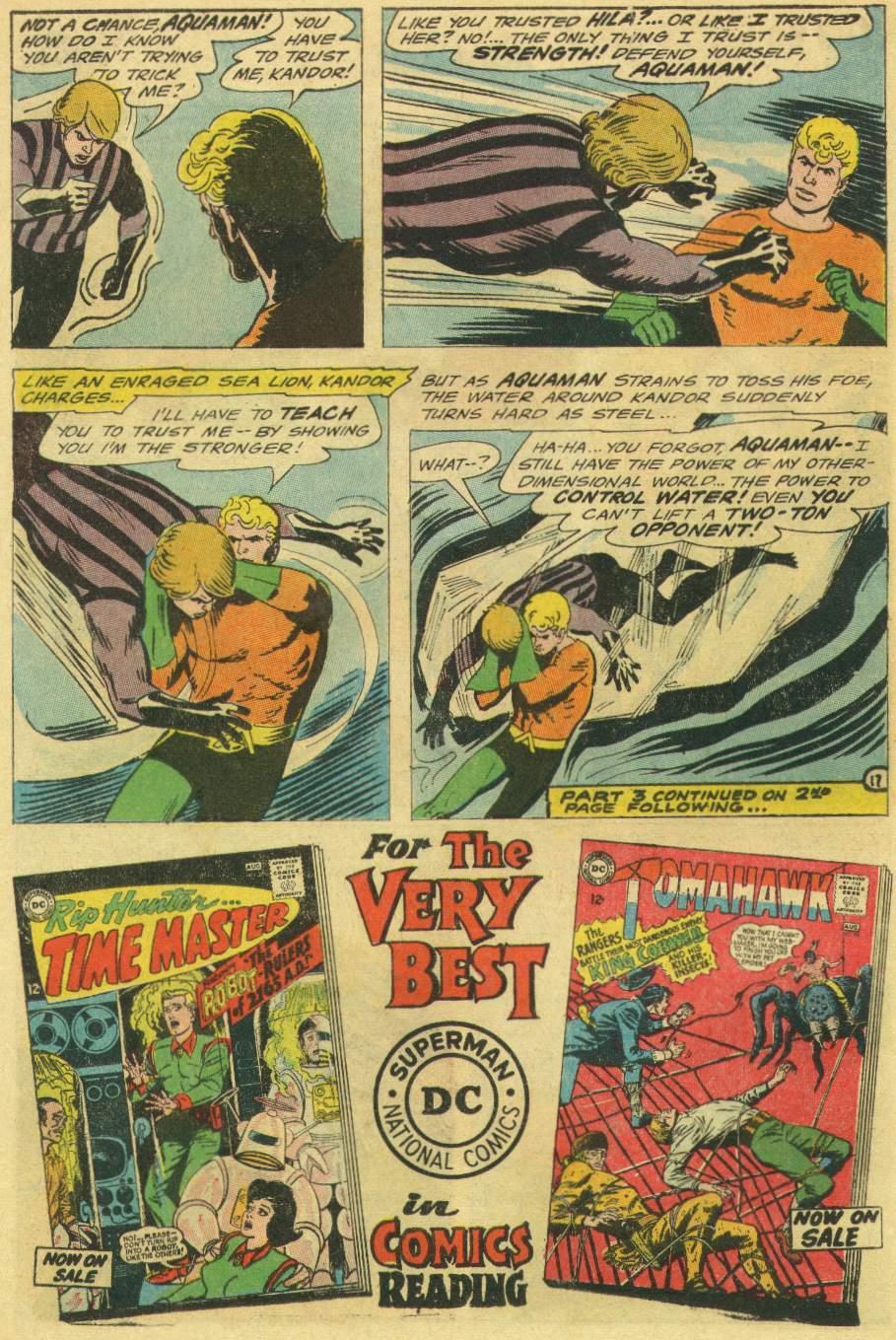 Read online Aquaman (1962) comic -  Issue #22 - 22