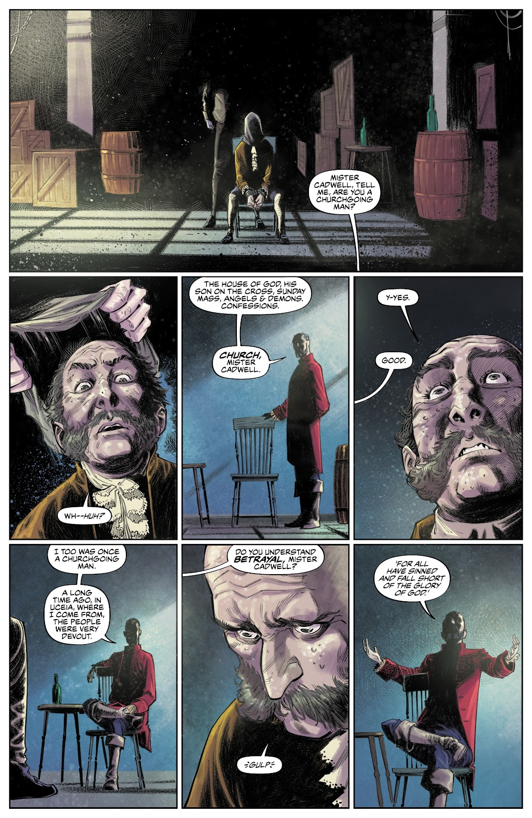 Read online These Savage Shores comic -  Issue #3 - 9