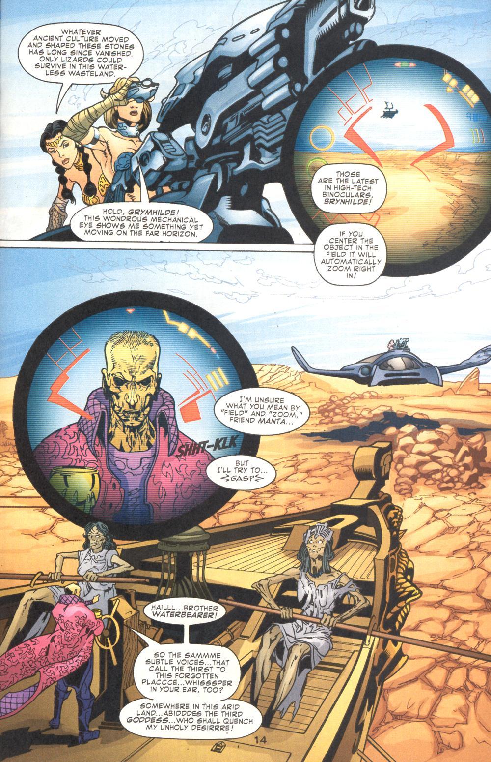 Read online Aquaman (2003) comic -  Issue #9 - 16
