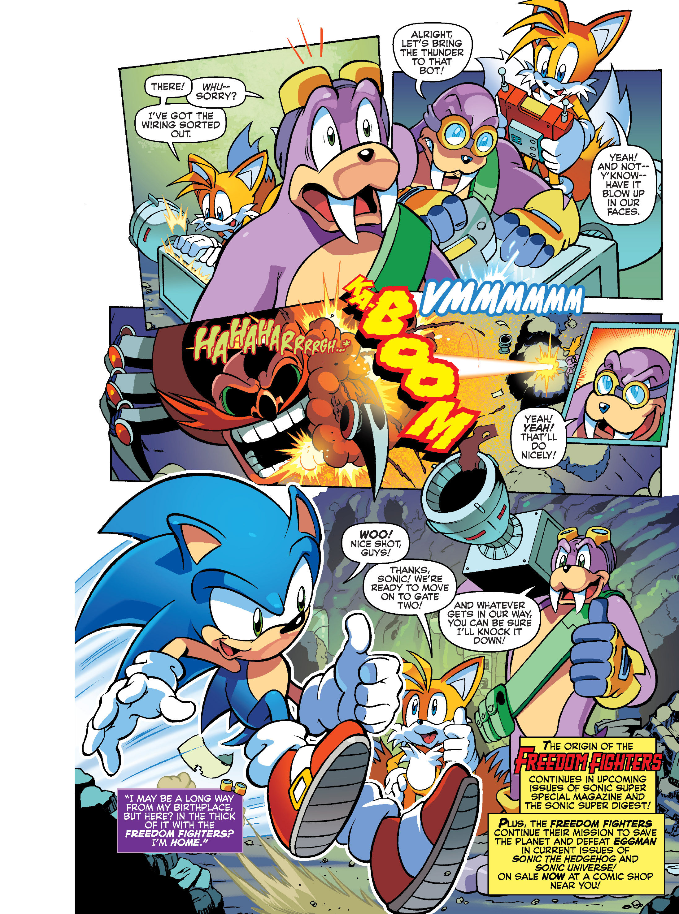 Read online Sonic Super Digest comic -  Issue #7 - 6