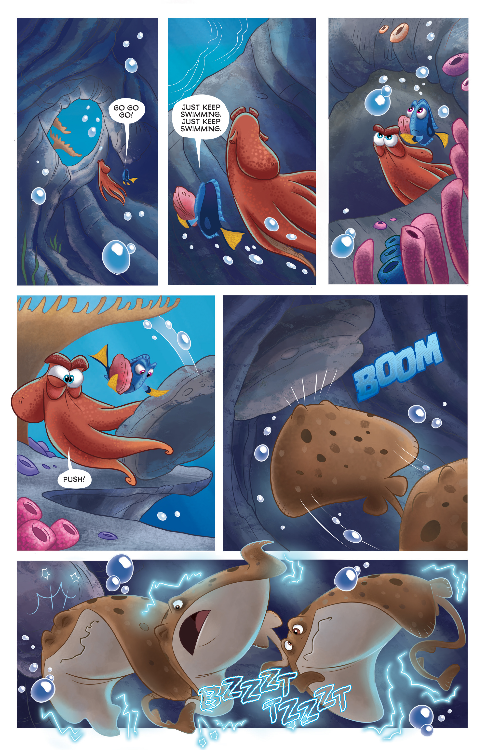 Read online Disney Pixar Finding Dory comic -  Issue #2 - 20