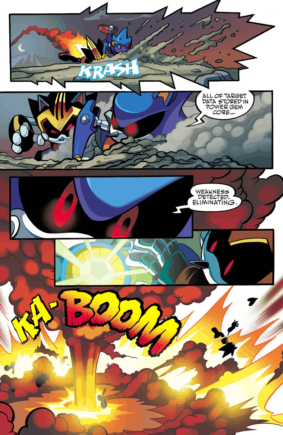 Read online Sonic Universe comic -  Issue #50 - 22