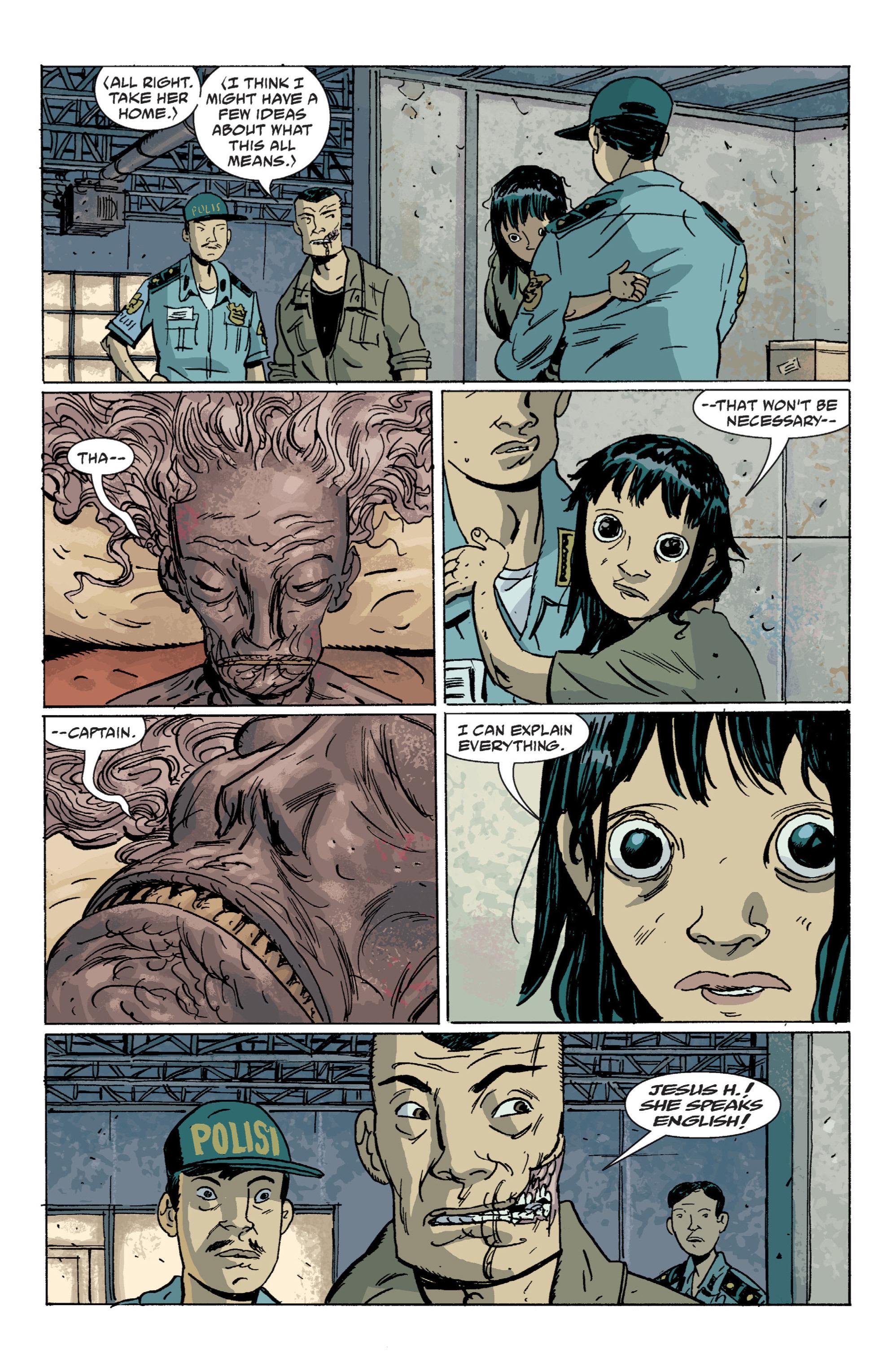 Read online B.P.R.D. (2003) comic -  Issue # TPB 7 - 96