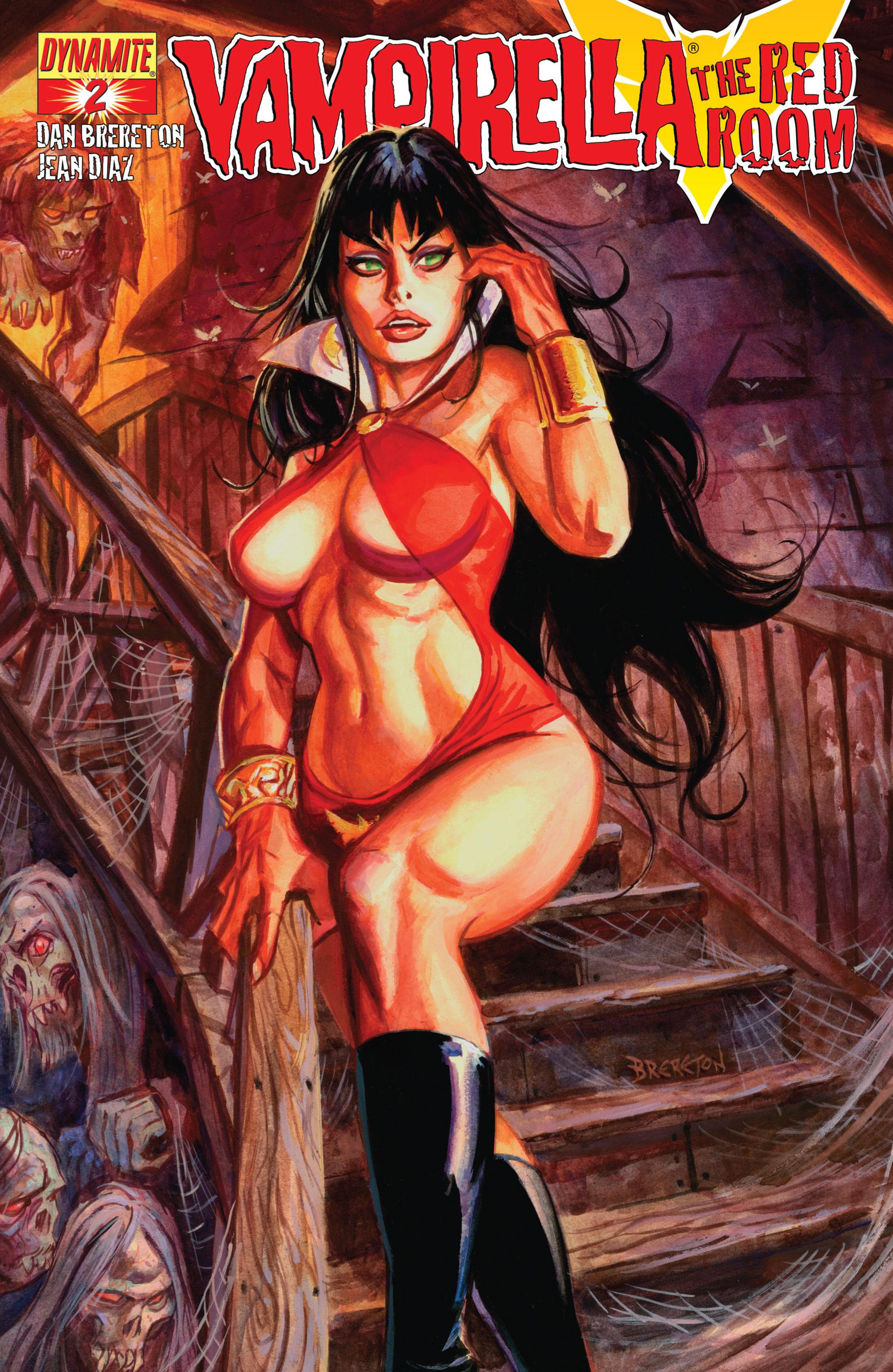 Vampirella: The Red Room 2 Page 1