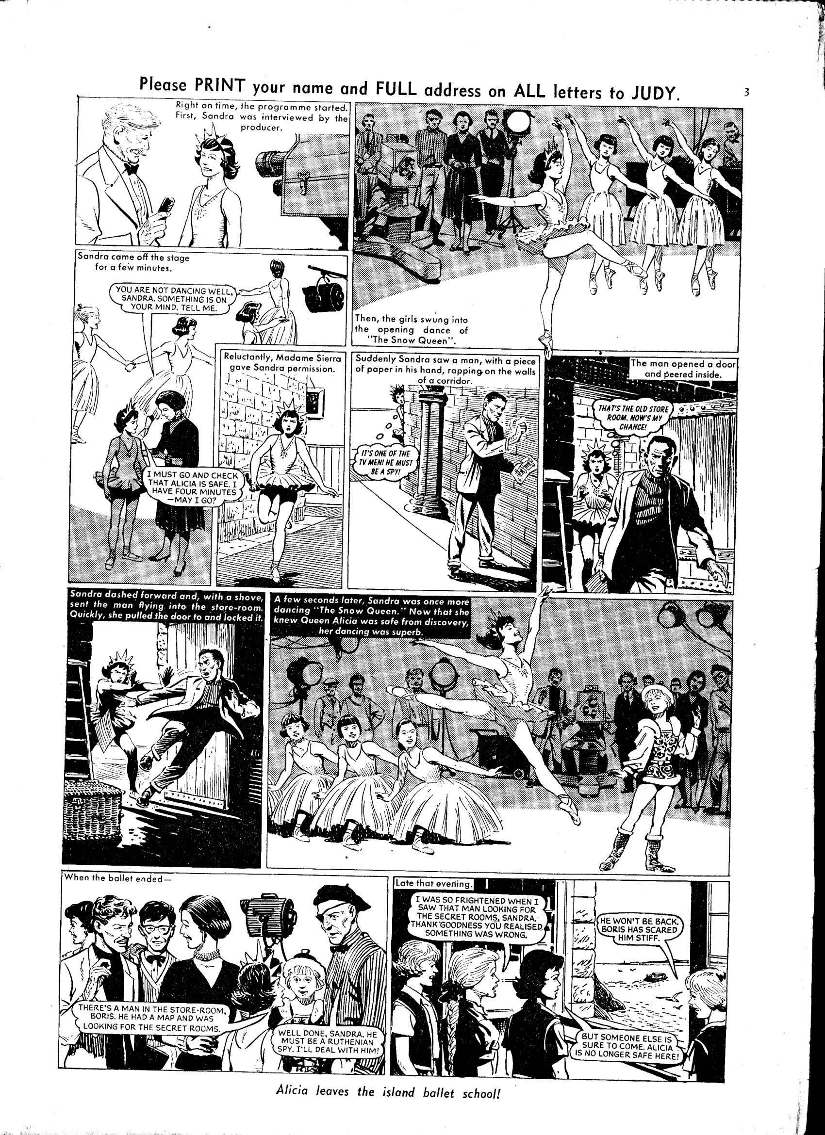 Read online Judy comic -  Issue #35 - 3