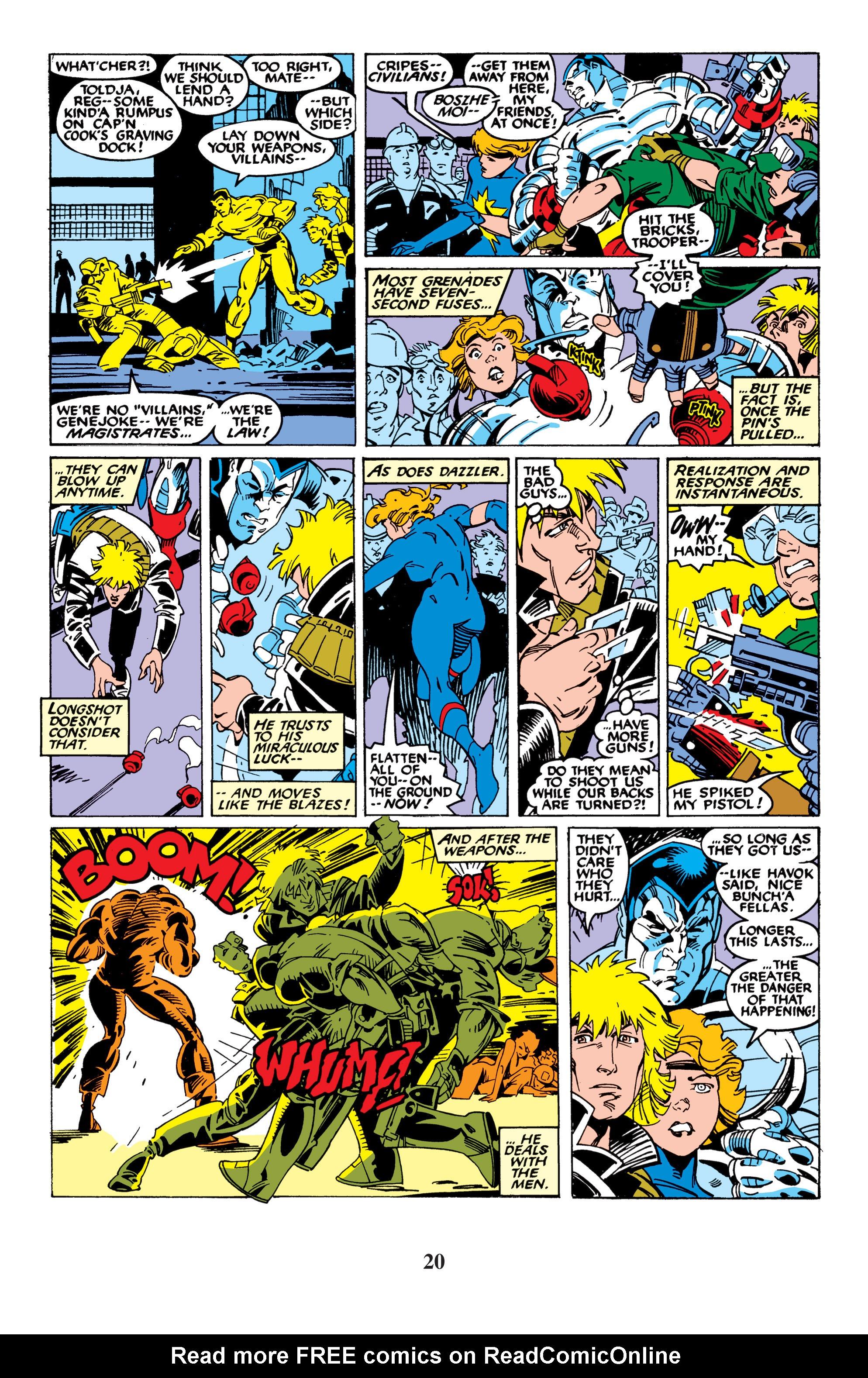 Read online Uncanny X-Men (1963) comic -  Issue #235 - 20