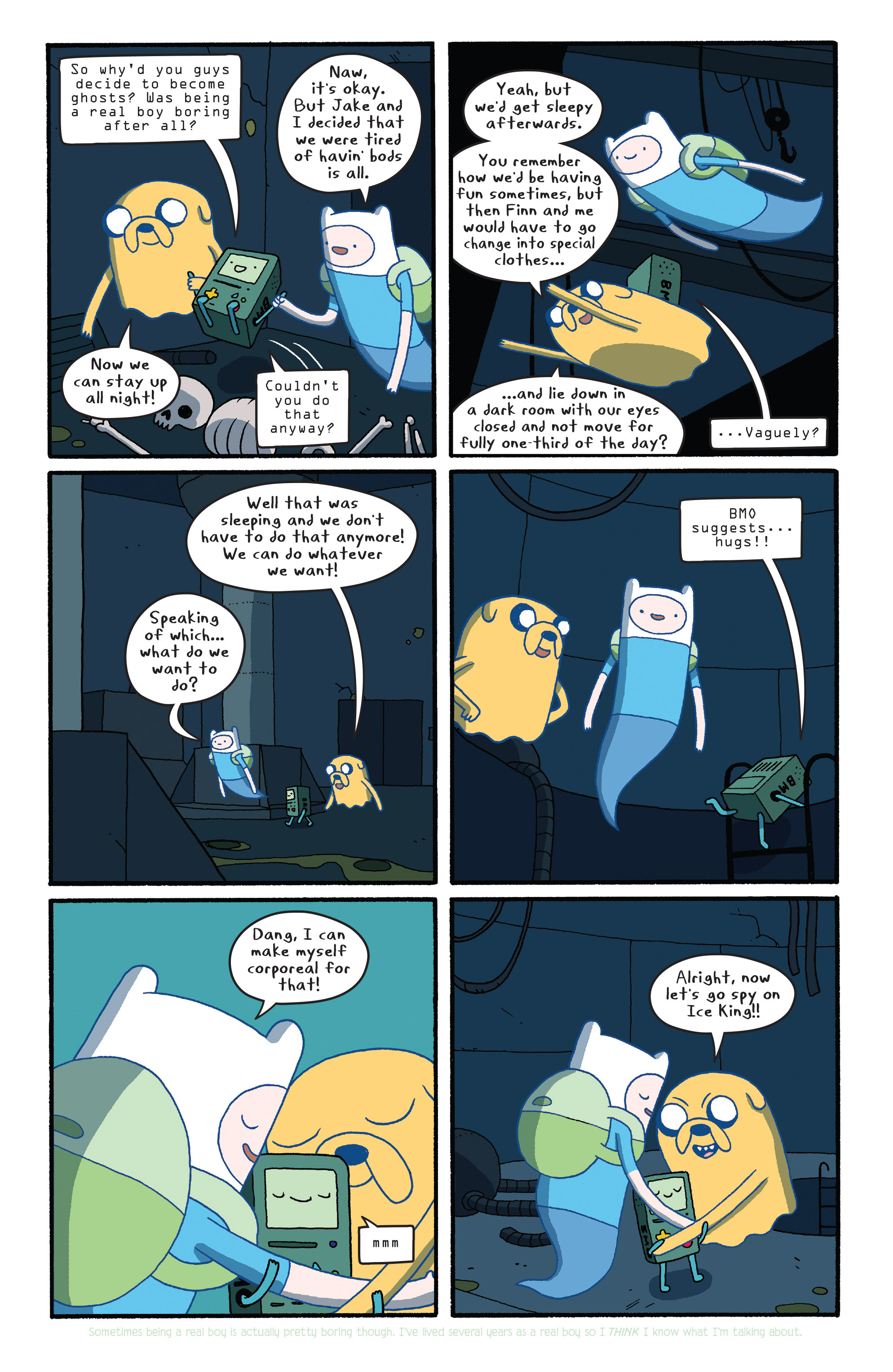 Read online Adventure Time comic -  Issue #27 - 6