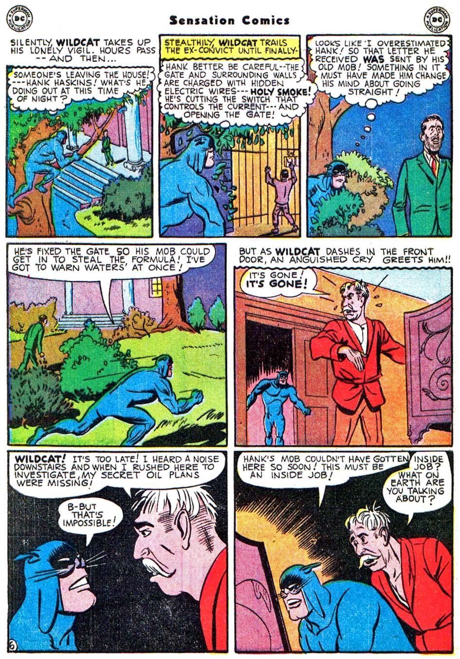Read online Sensation (Mystery) Comics comic -  Issue #54 - 47
