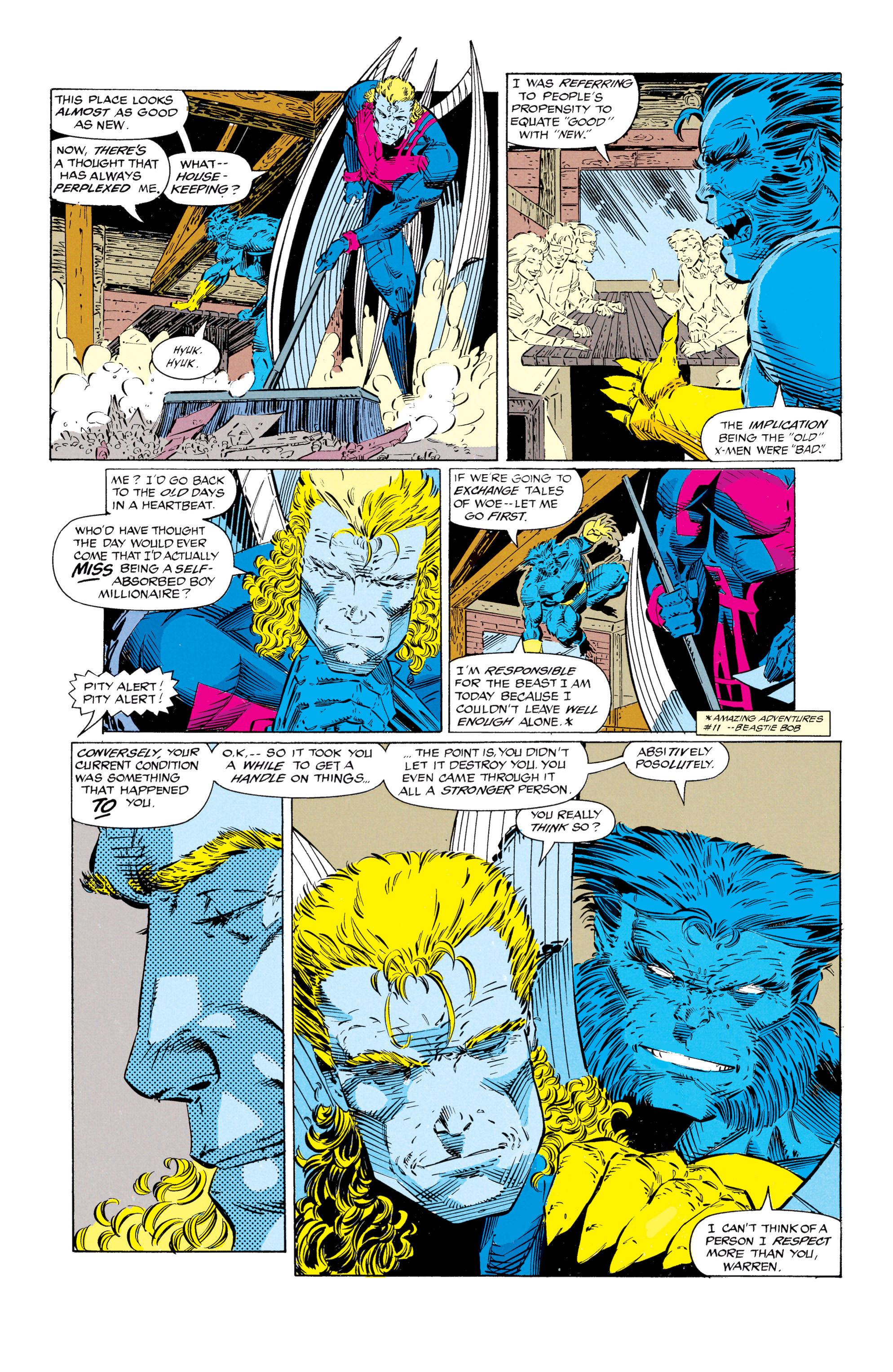 Read online Uncanny X-Men (1963) comic -  Issue #297 - 16