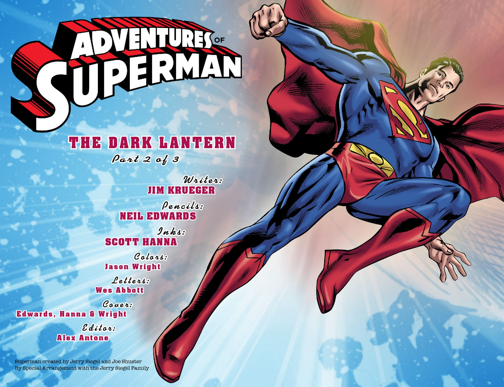 Read online Adventures of Superman [I] comic -  Issue #32 - 2