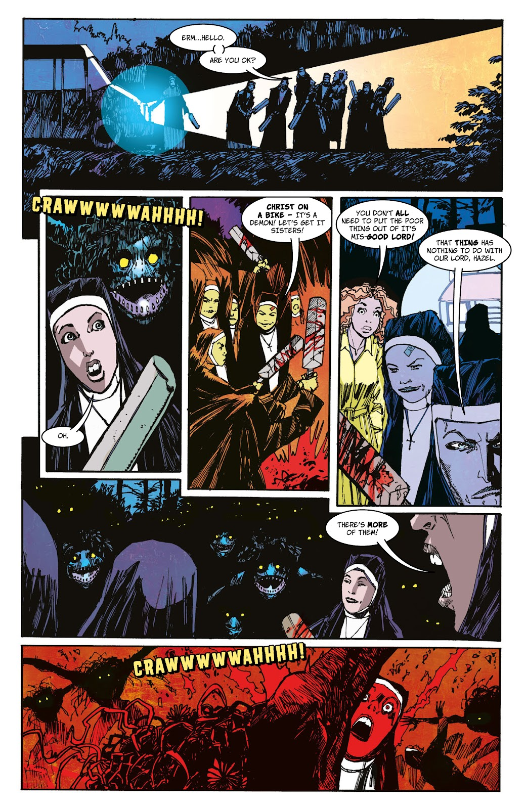 Read online 2000 AD Villains Special comic -  Issue # Full - 32
