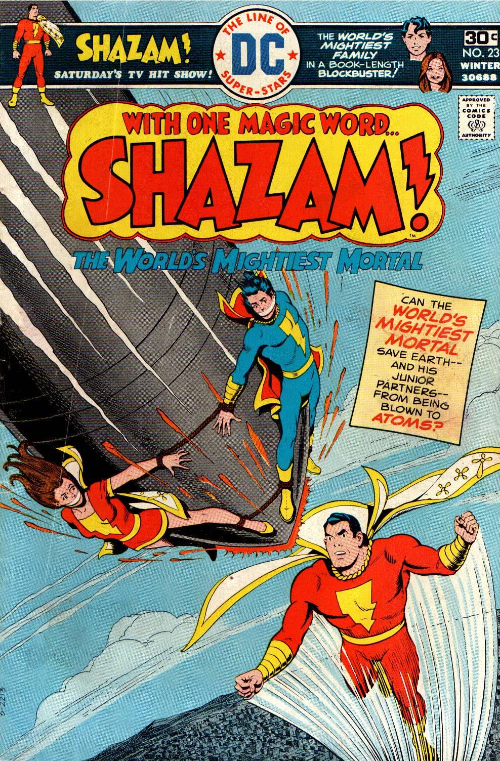Read online Shazam! (1973) comic -  Issue #23 - 1
