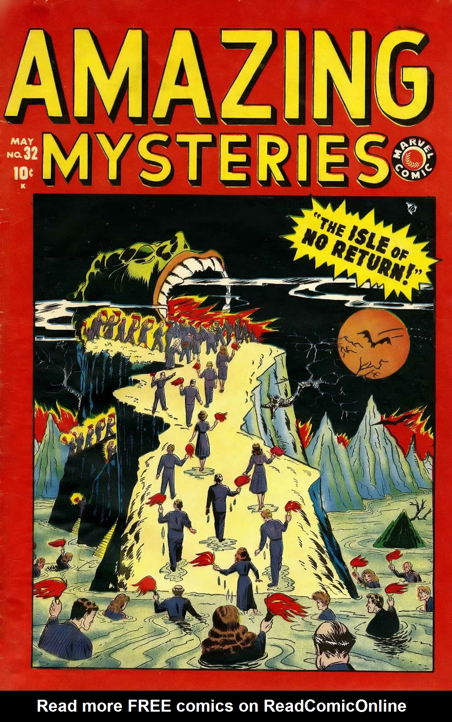 Amazing Mysteries issue 32 - Page 1