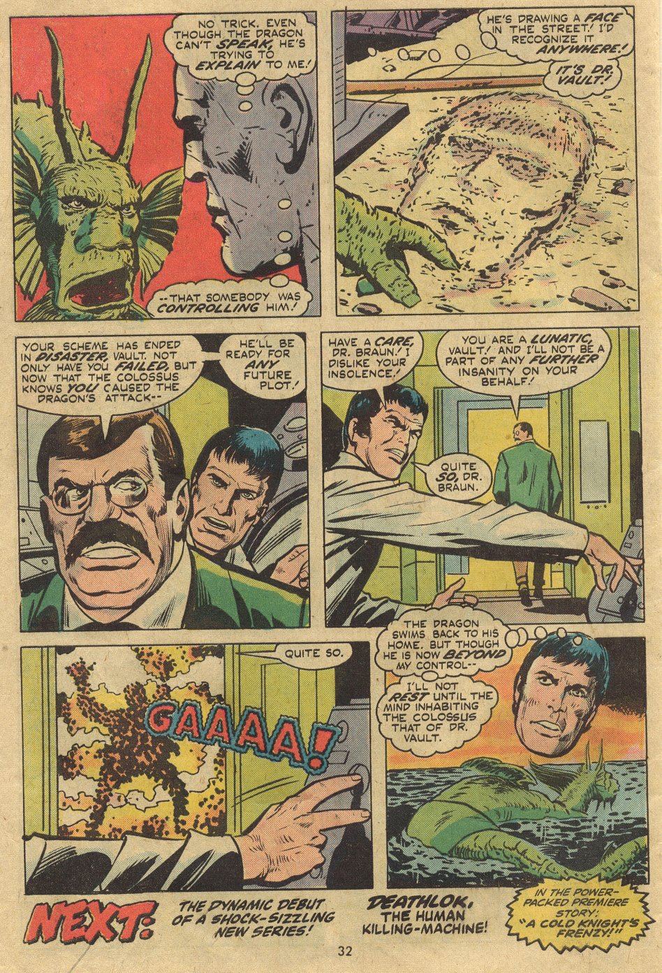 Read online Astonishing Tales (1970) comic -  Issue #24 - 21