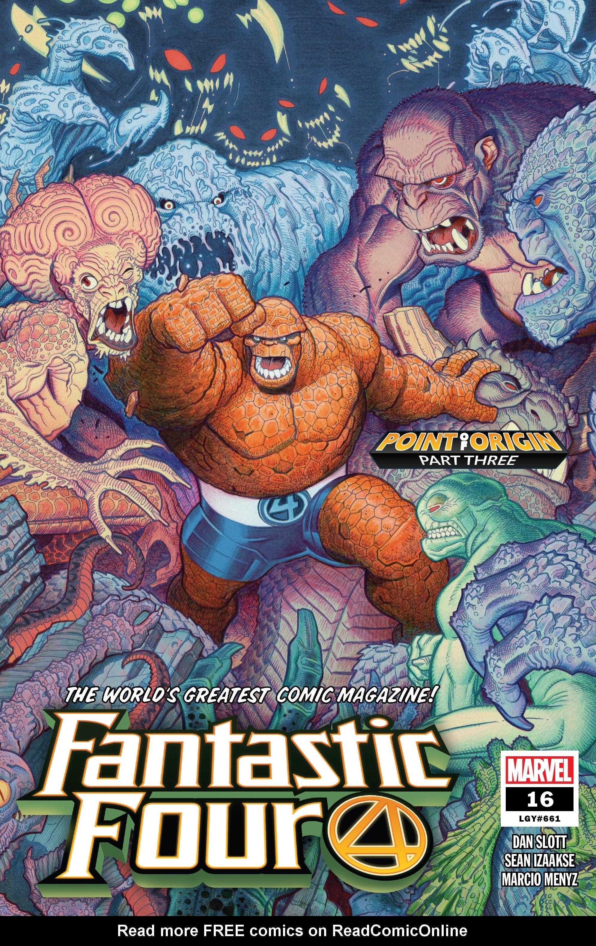 Fantastic Four (2018) 16 Page 1