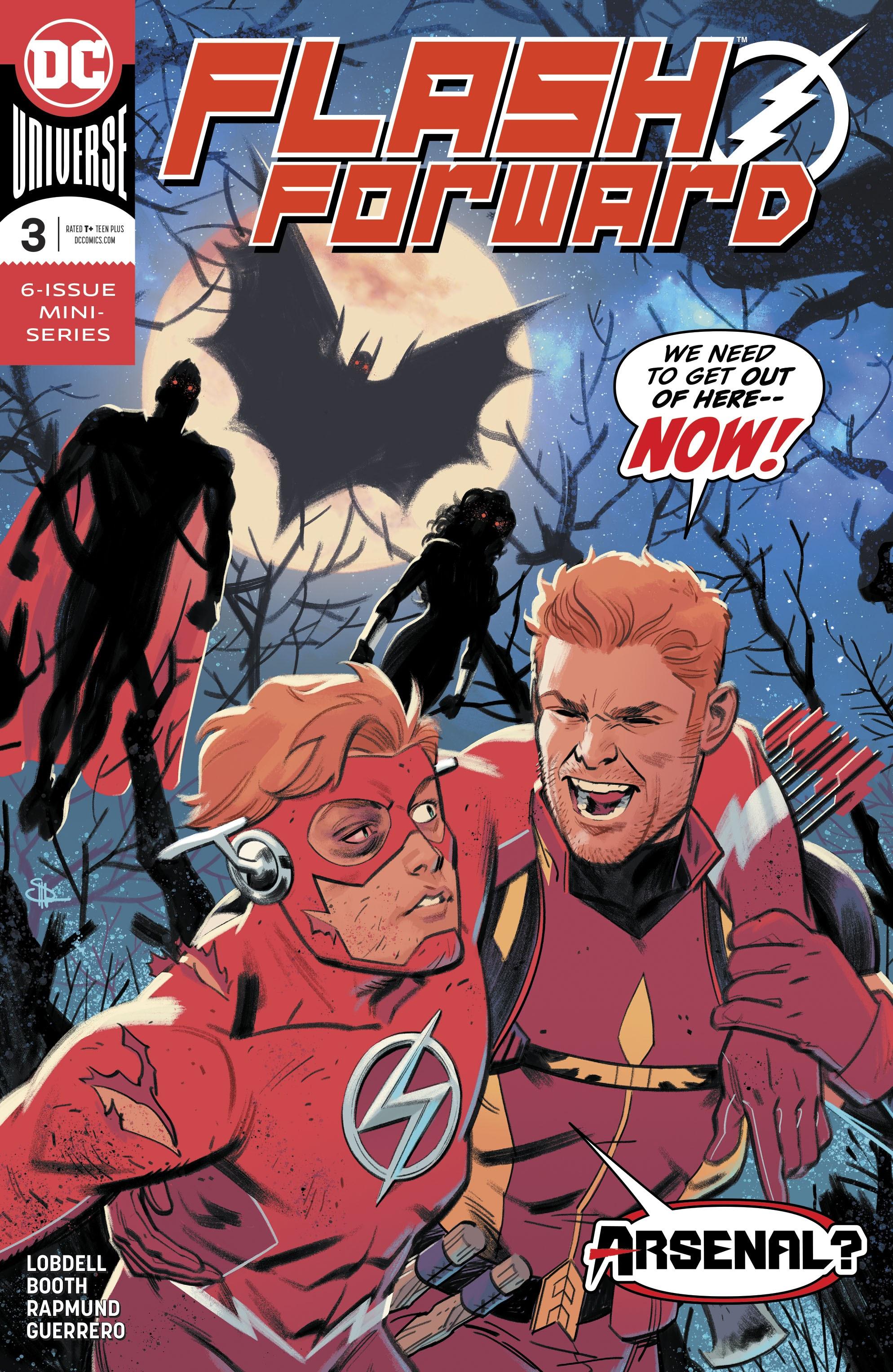 【DC宇宙相關】三代閃電俠來到正義聯盟全員都變成吸血鬼的 43 號地球!