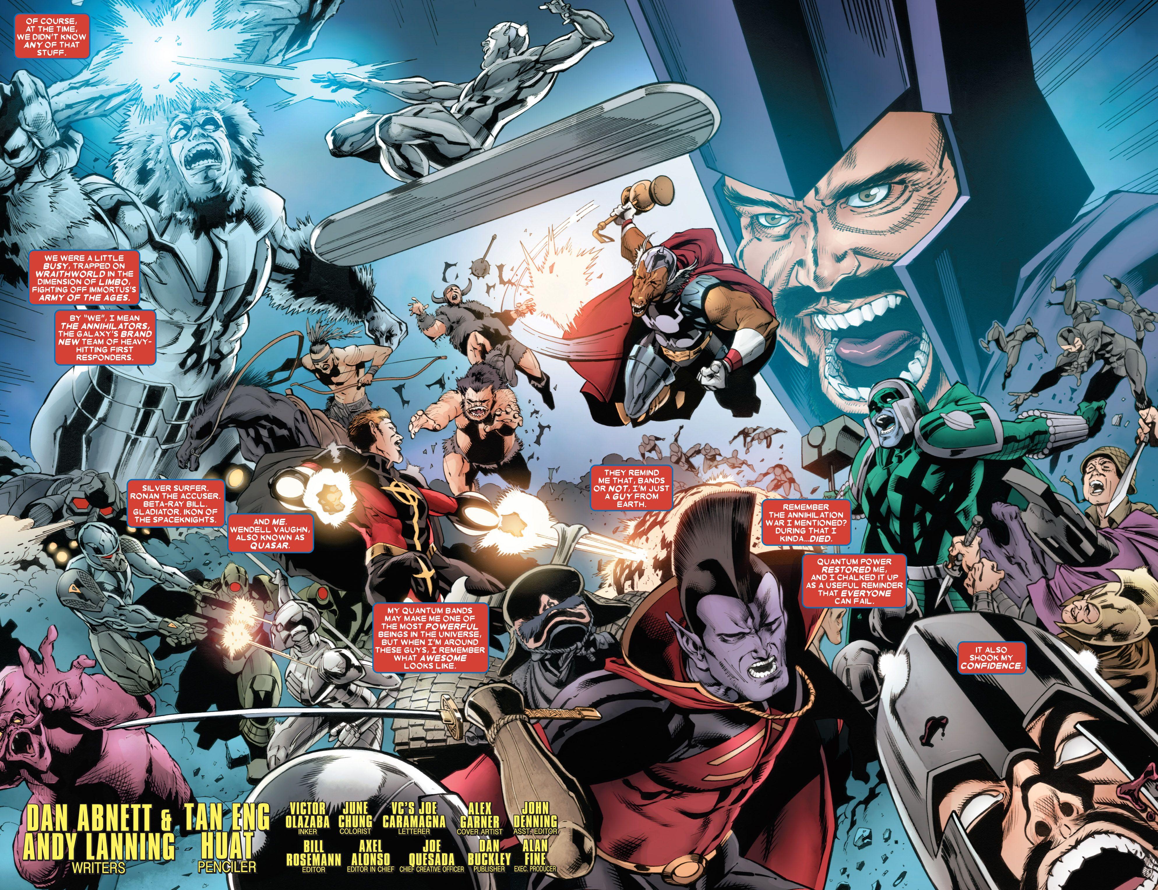 Read online Annihilators comic -  Issue #4 - 6