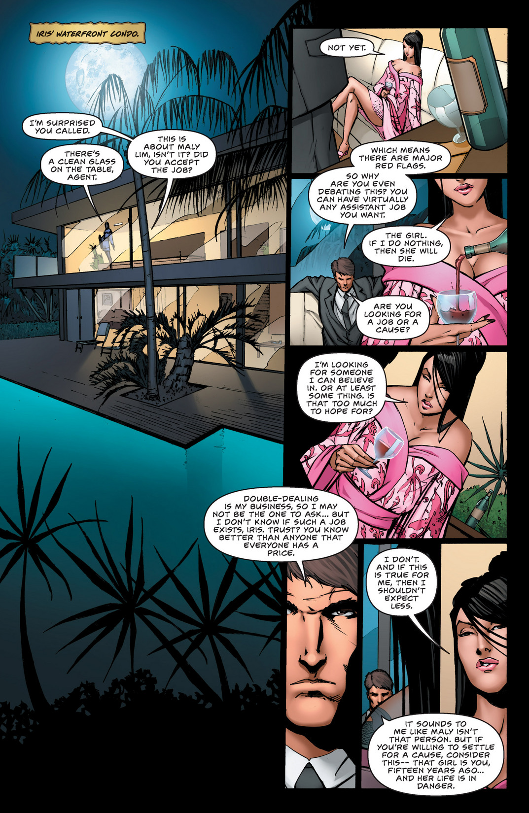 Read online All New Executive Assistant: Iris comic -  Issue #2 - 11