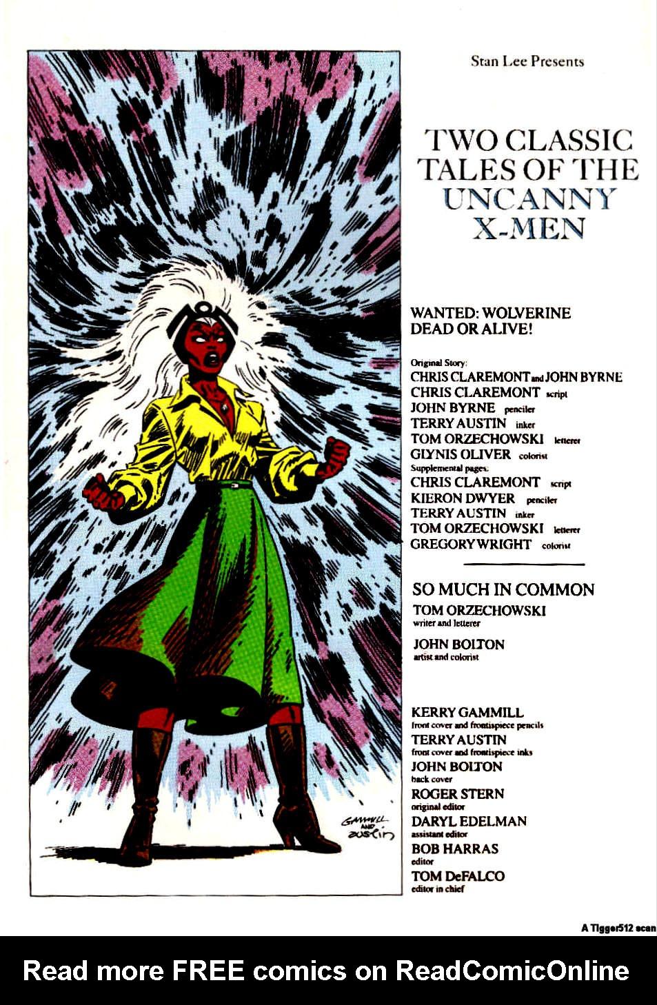 Classic X-Men 26 Page 2