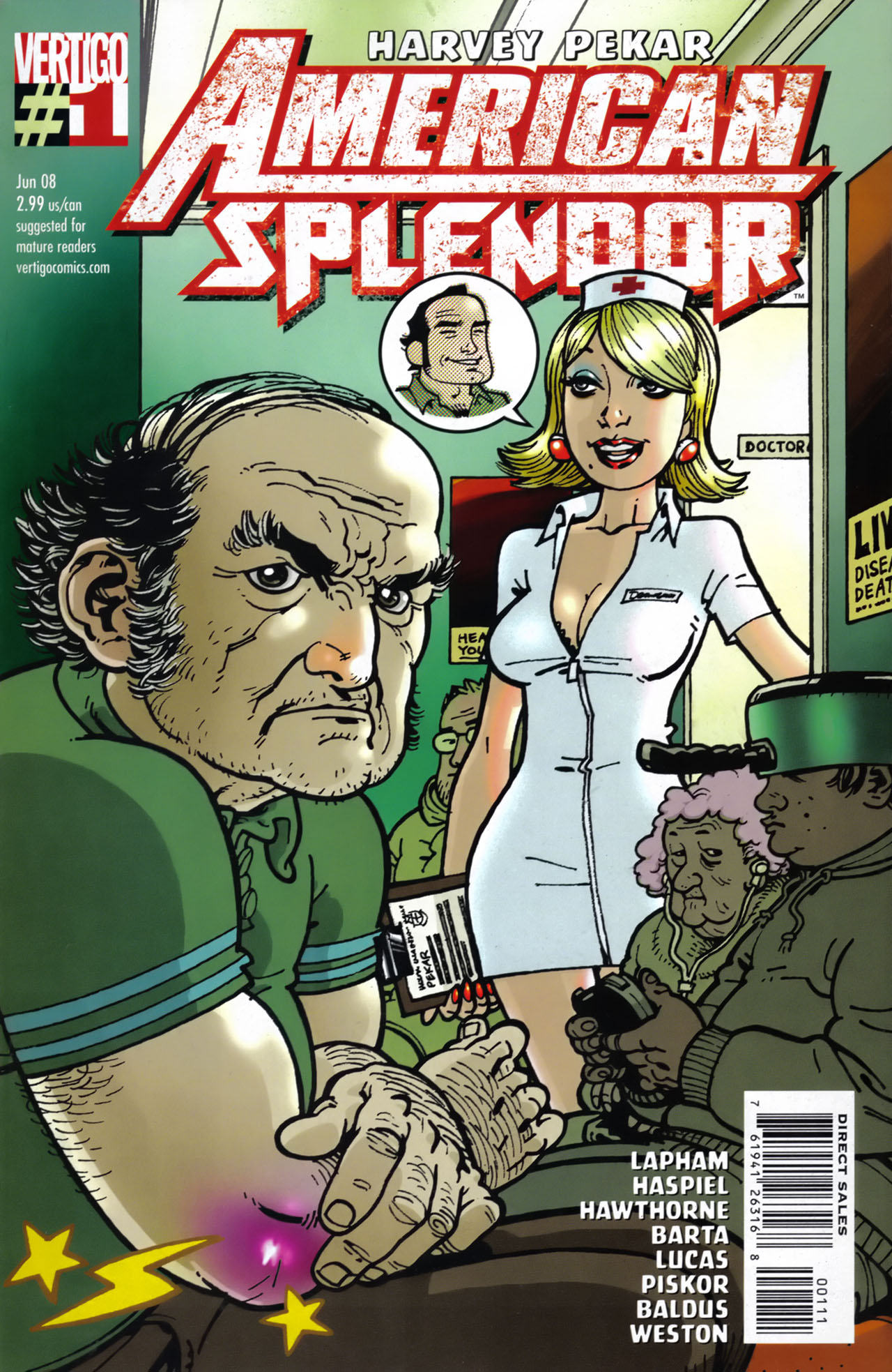 American Splendor (2008) issue 1 - Page 1