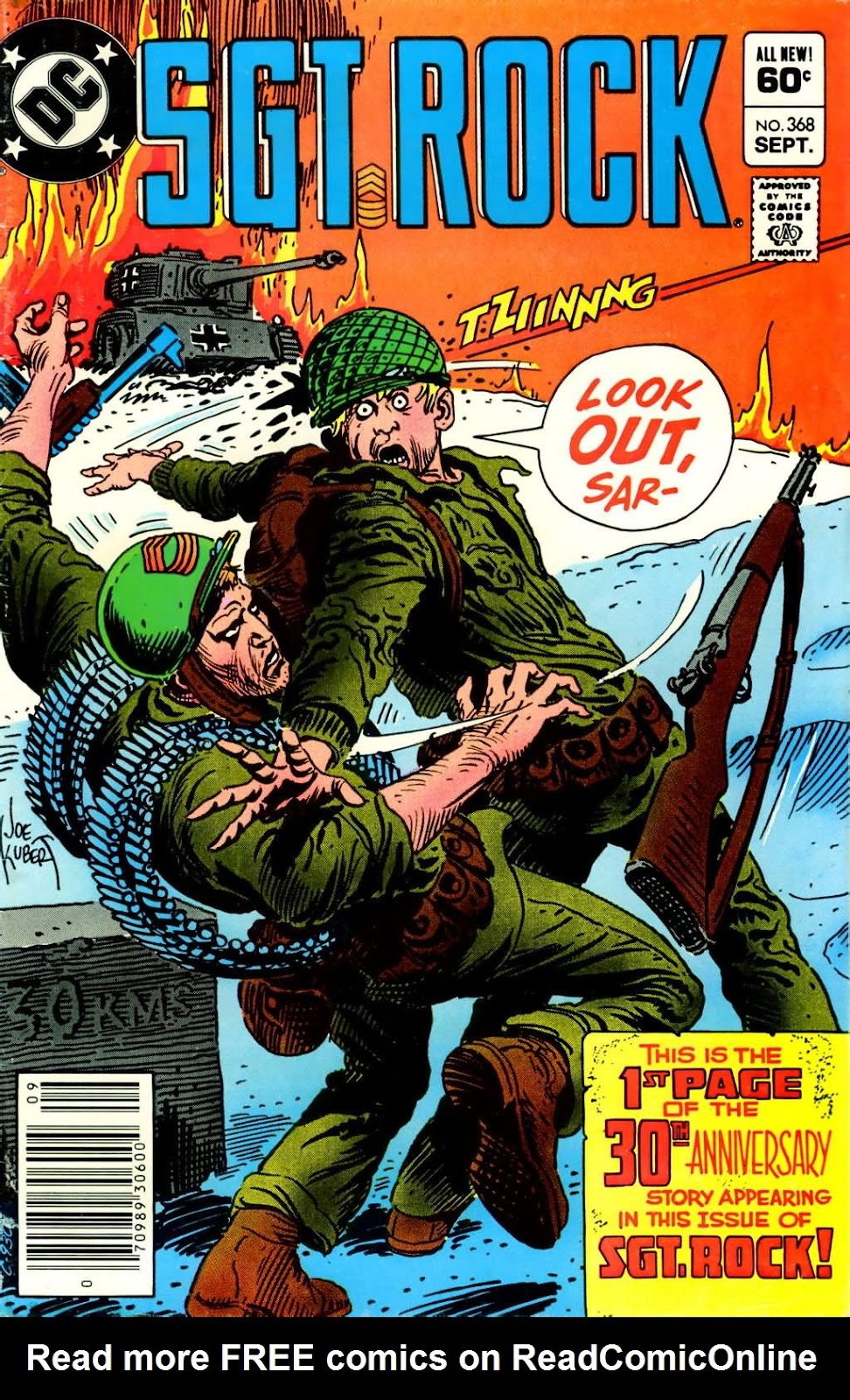 Sgt. Rock issue 368 - Page 1