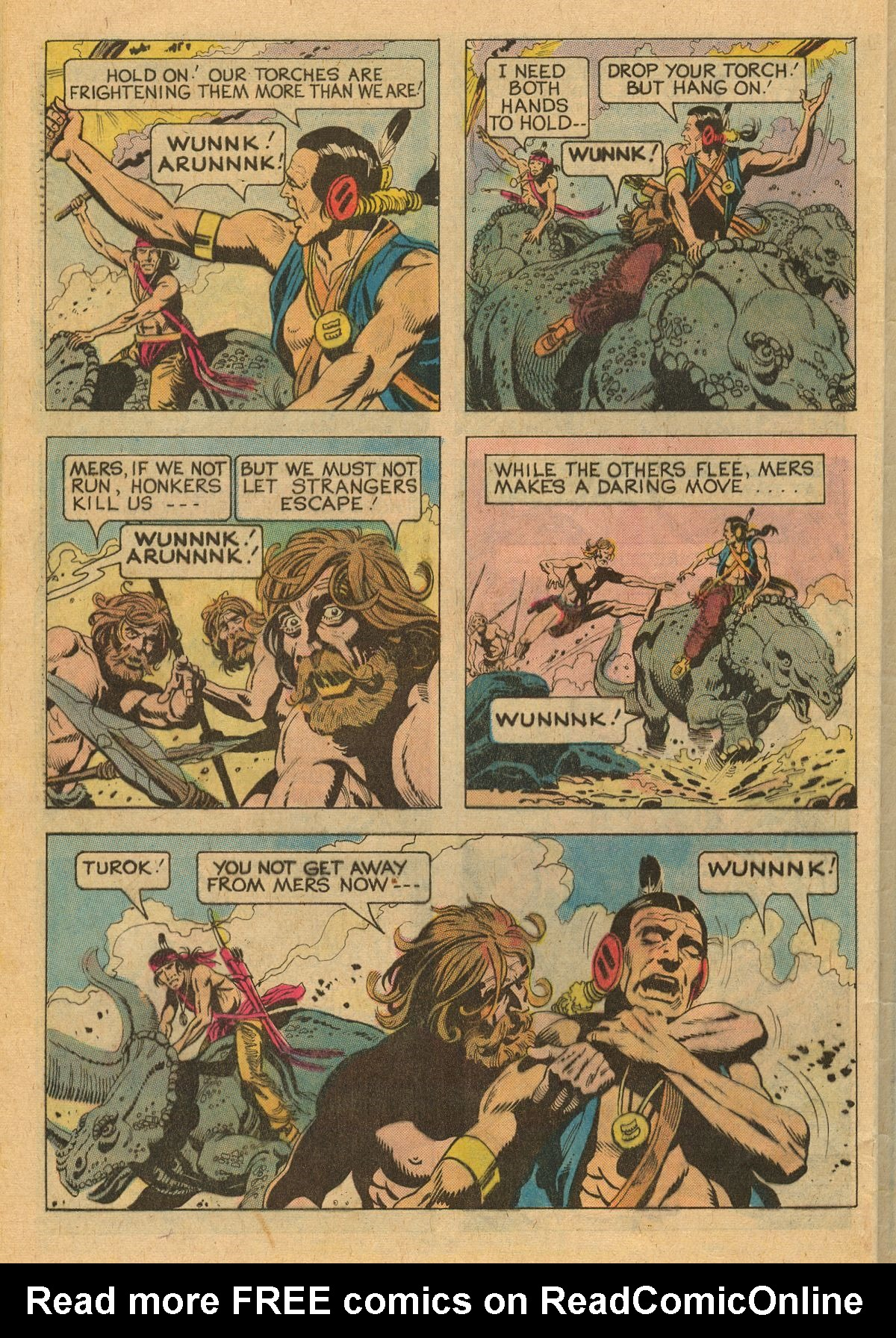 Read online Turok, Son of Stone comic -  Issue #111 - 32