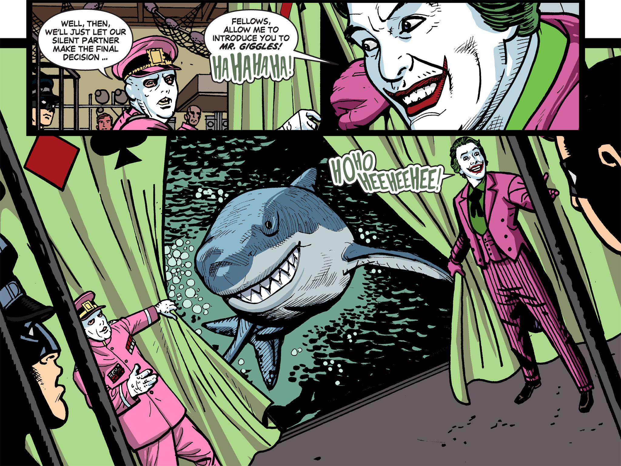 Read online Batman '66 Meets the Green Hornet [II] comic -  Issue #5 - 98