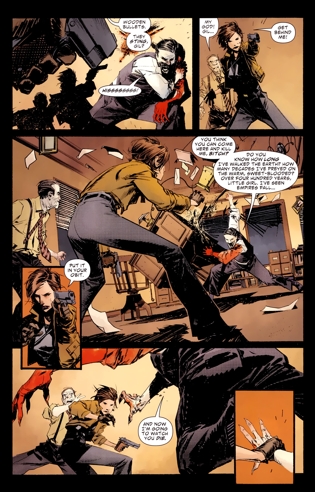 Read online American Vampire: Survival of the Fittest comic -  Issue #1 - 8
