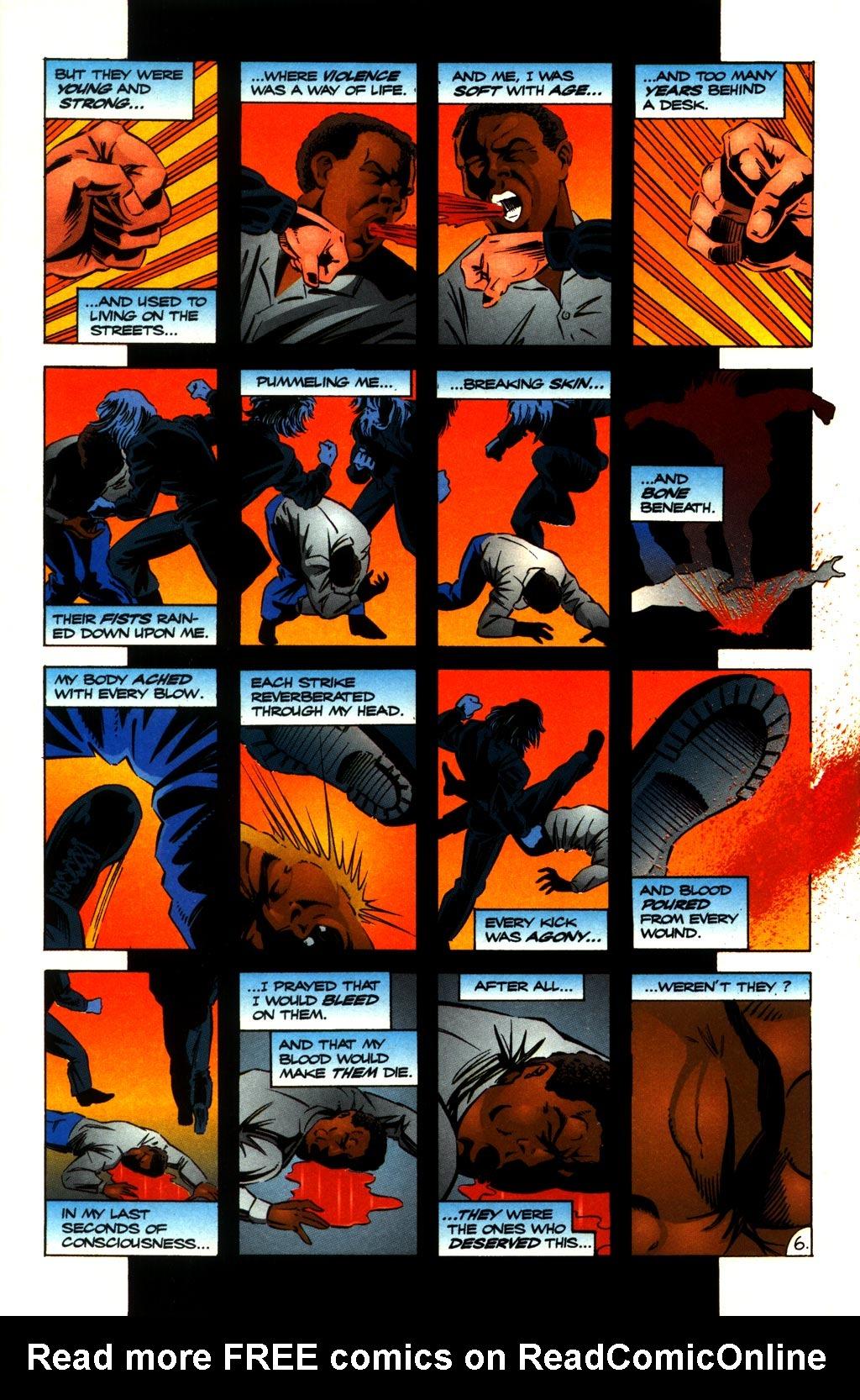 Read online ShadowHawk comic -  Issue #10 - 8