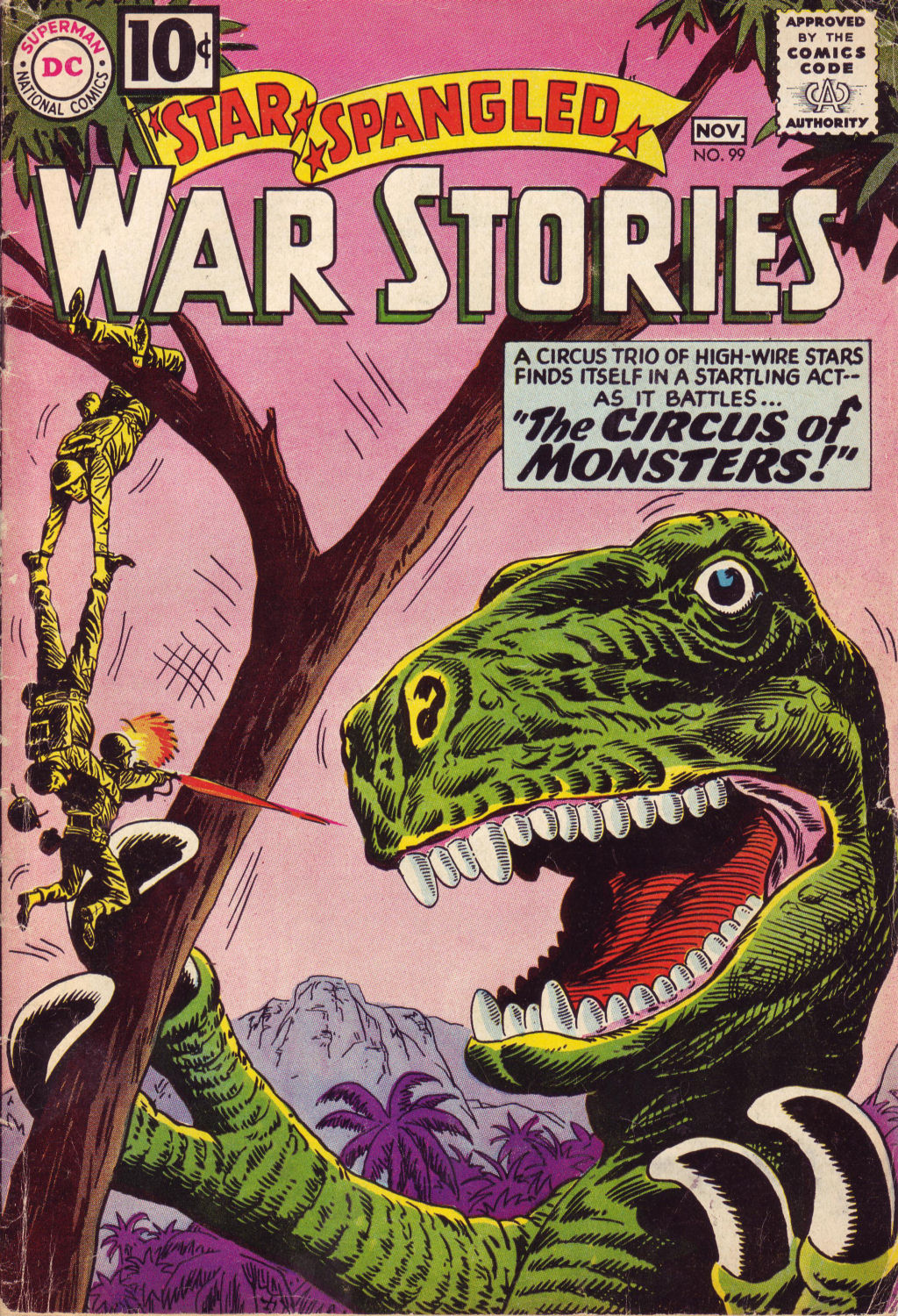 Star Spangled War Stories (1952) issue 99 - Page 1
