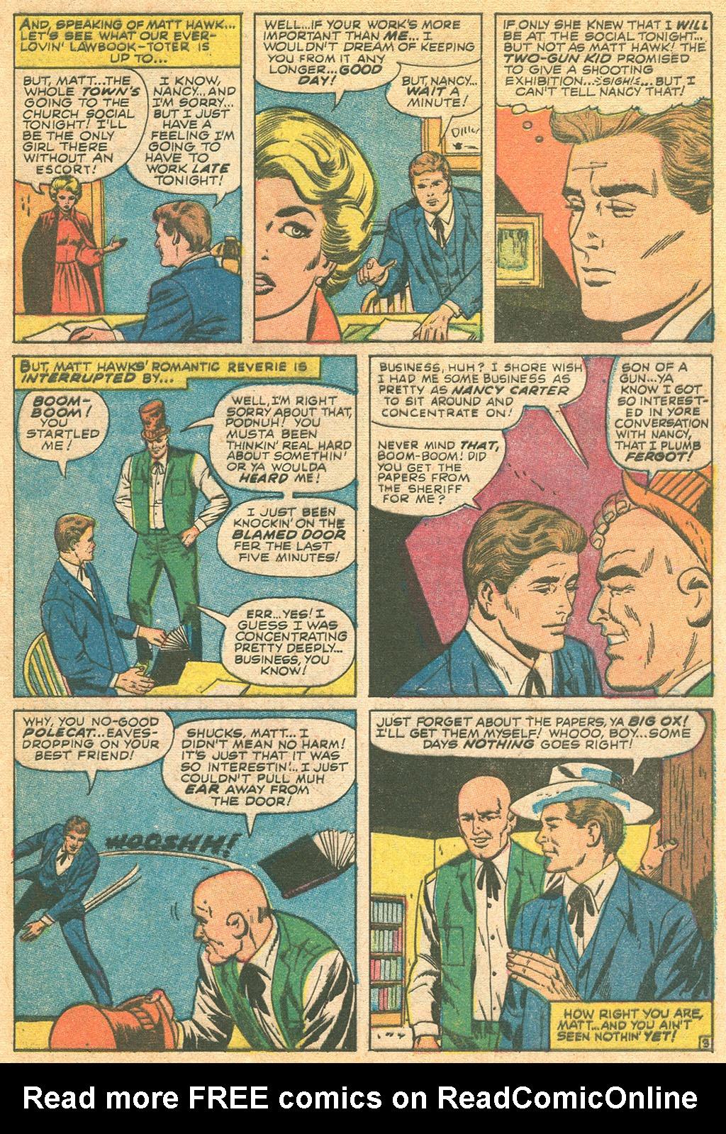 Read online Two-Gun Kid comic -  Issue #86 - 5