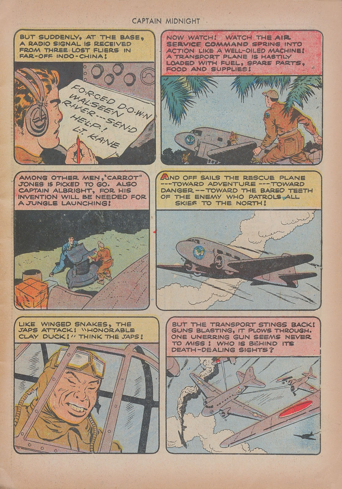 Captain Midnight (1942) issue 20 - Page 7