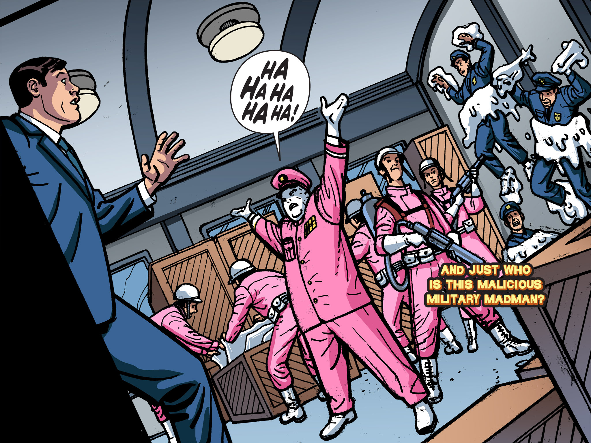 Read online Batman '66 Meets the Green Hornet [II] comic -  Issue #1 - 97