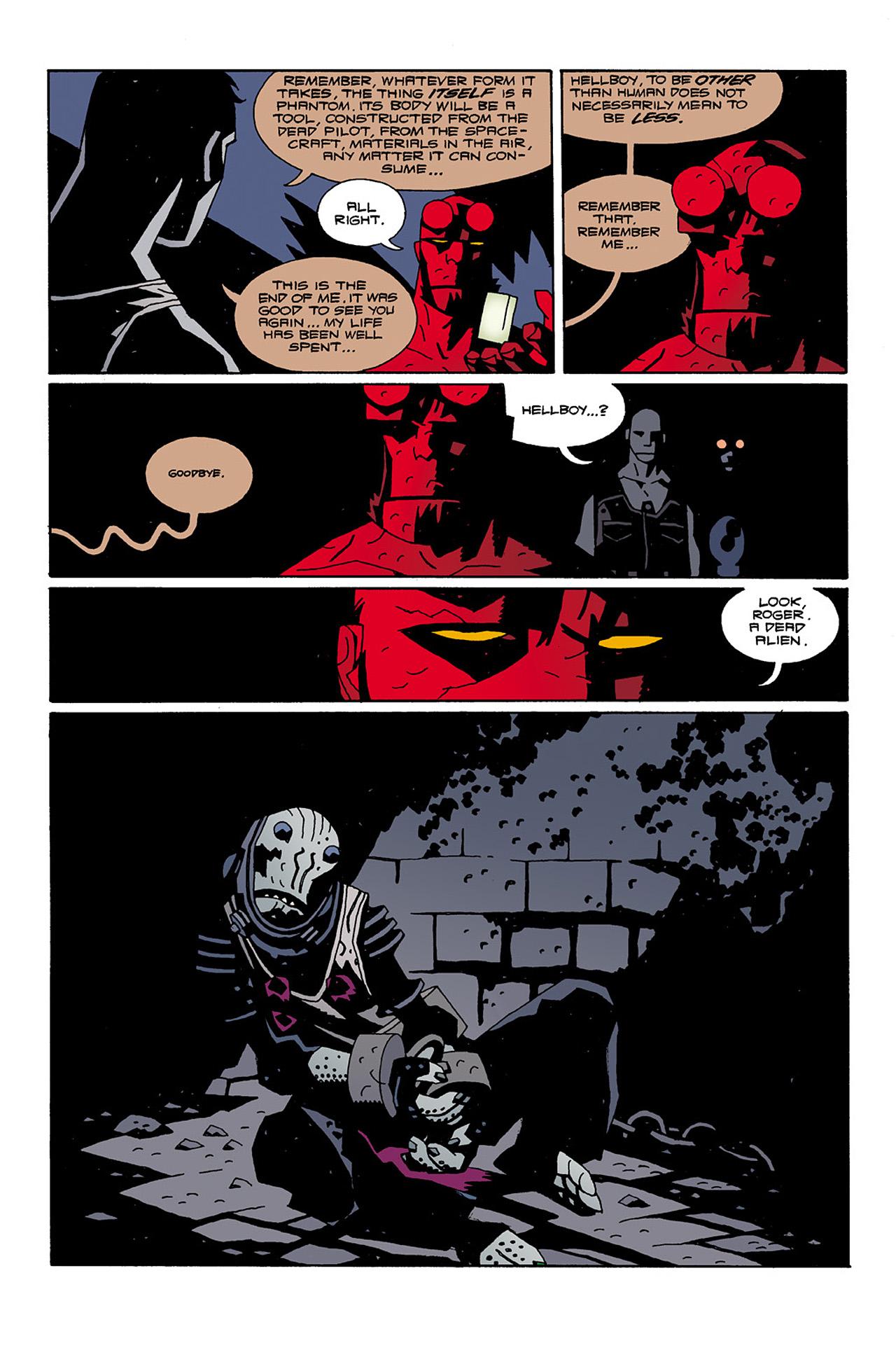 Read online Hellboy: Conqueror Worm comic -  Issue #2 - 28