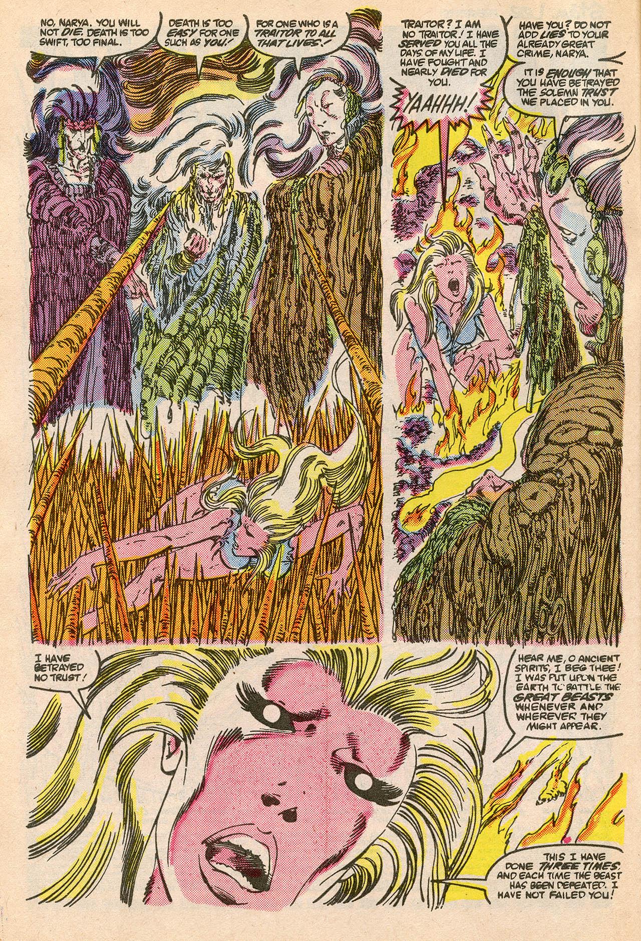 Read online Alpha Flight (1983) comic -  Issue #23 - 4