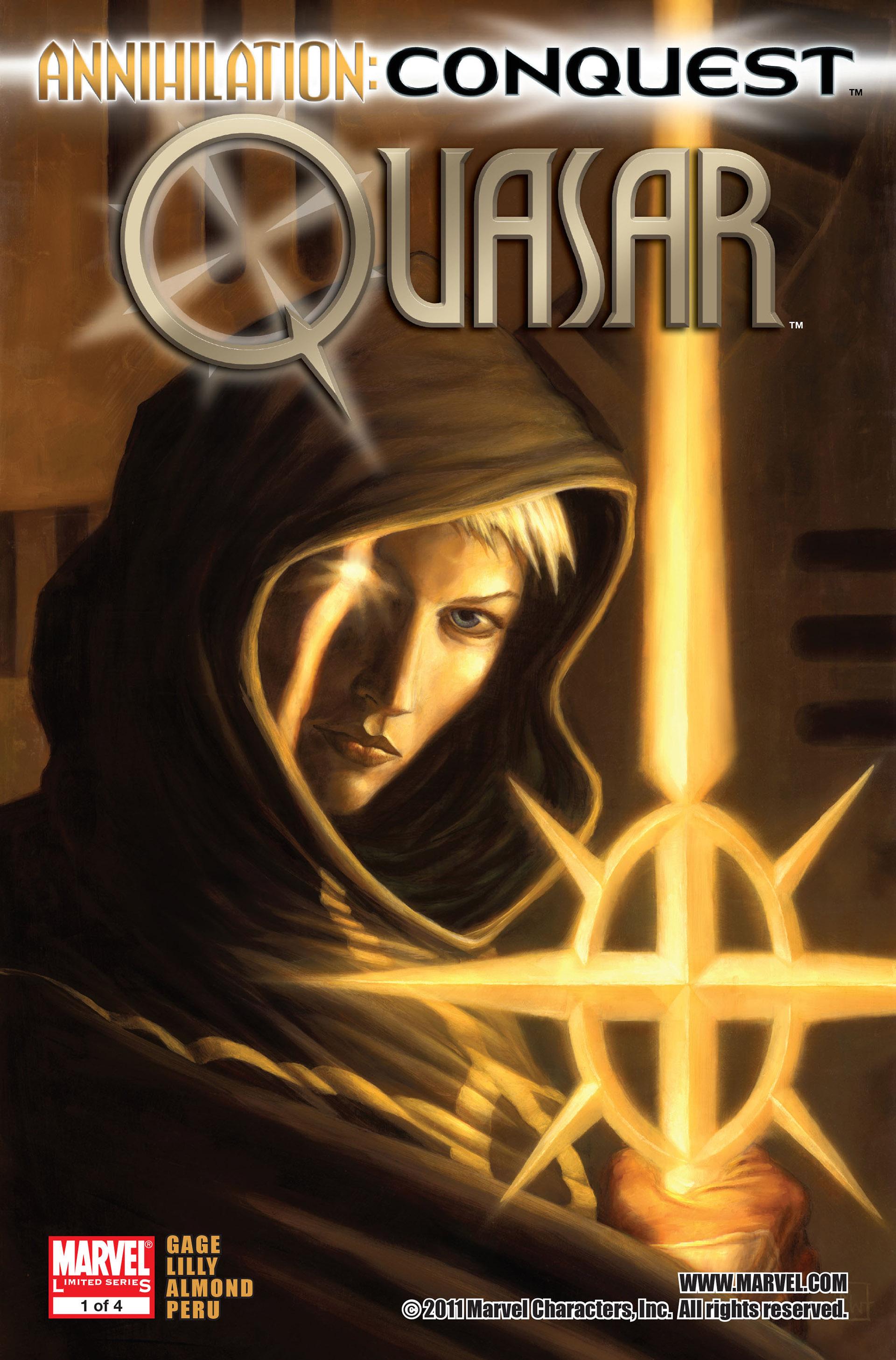 Read online Annihilation: Conquest - Quasar comic -  Issue #1 - 1