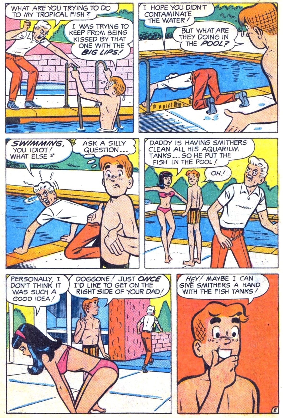 Read online Archie (1960) comic -  Issue #185 - 30